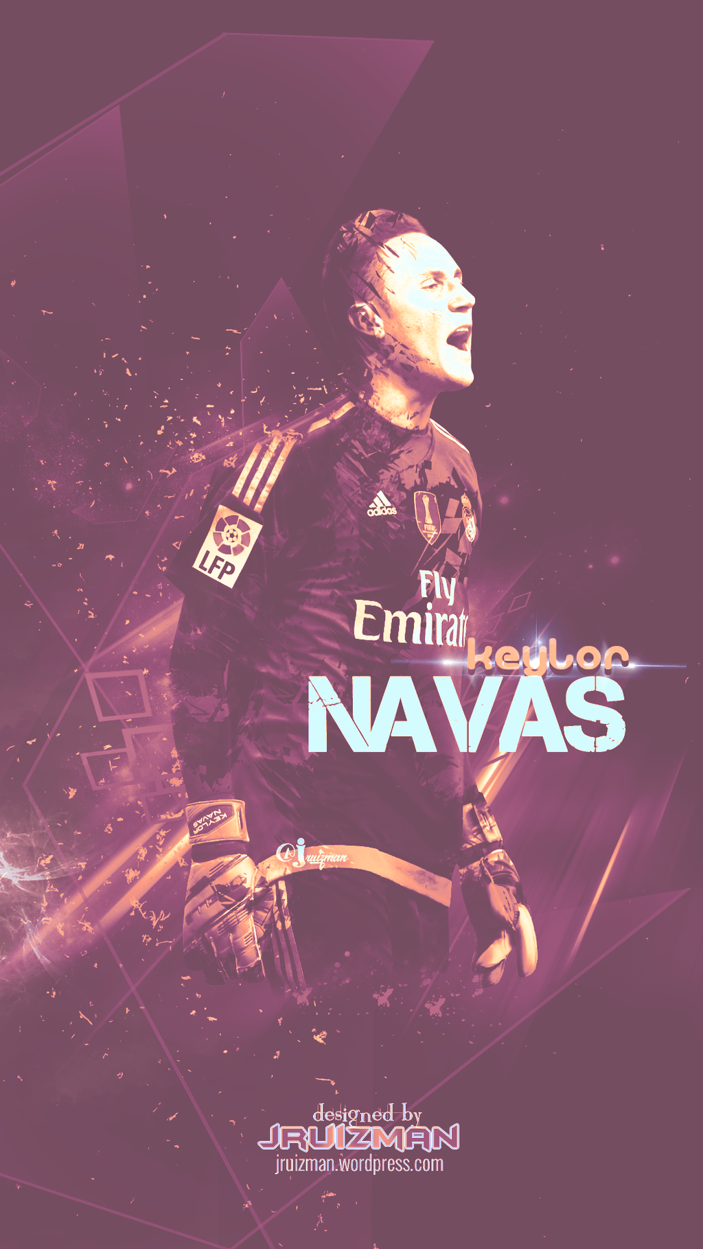 Keylor Navas by jruizman on DeviantArt