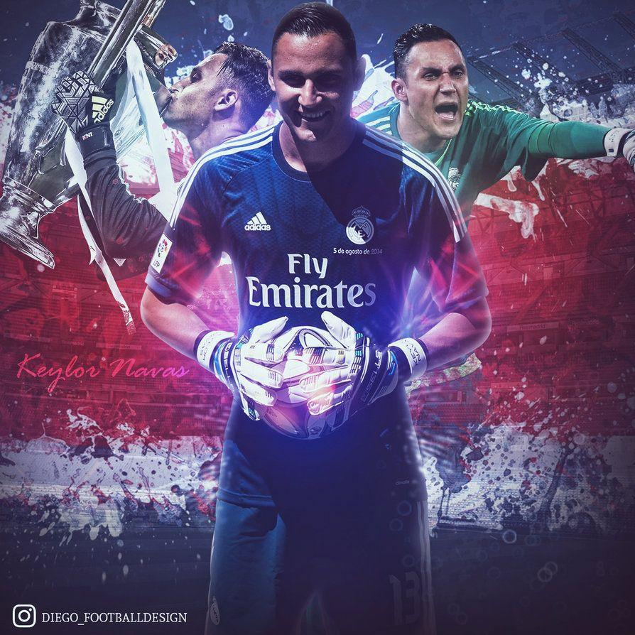 Keylor Navas by Diego_Footballdesign by DiegoFutDesign on DeviantArt