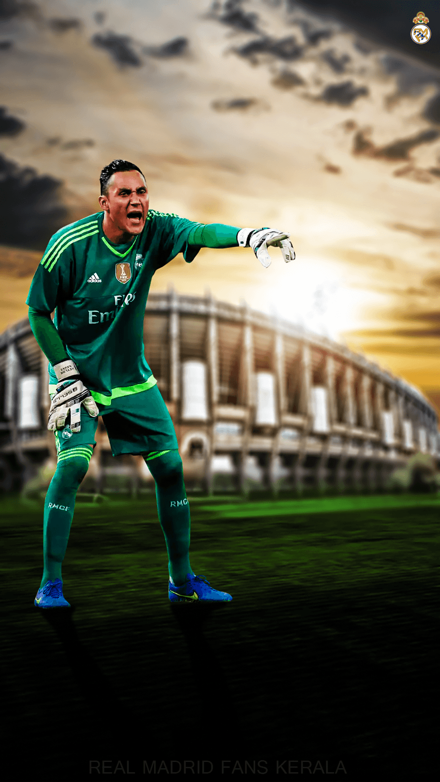 Keylor Navas by ShibilyMV7 on DeviantArt
