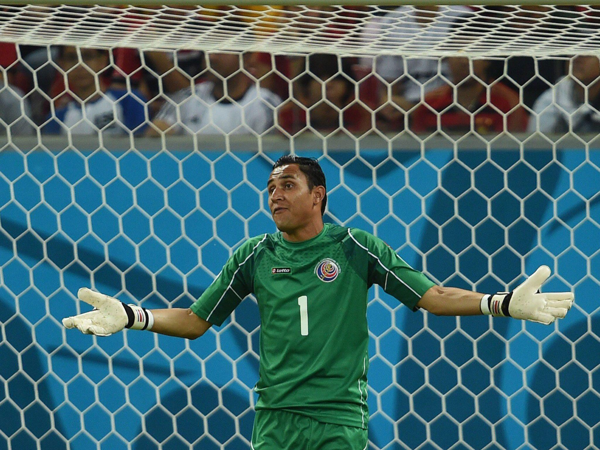 Costa Rica goalkeeper Keylor Navas becomes 'world's most wanted ...