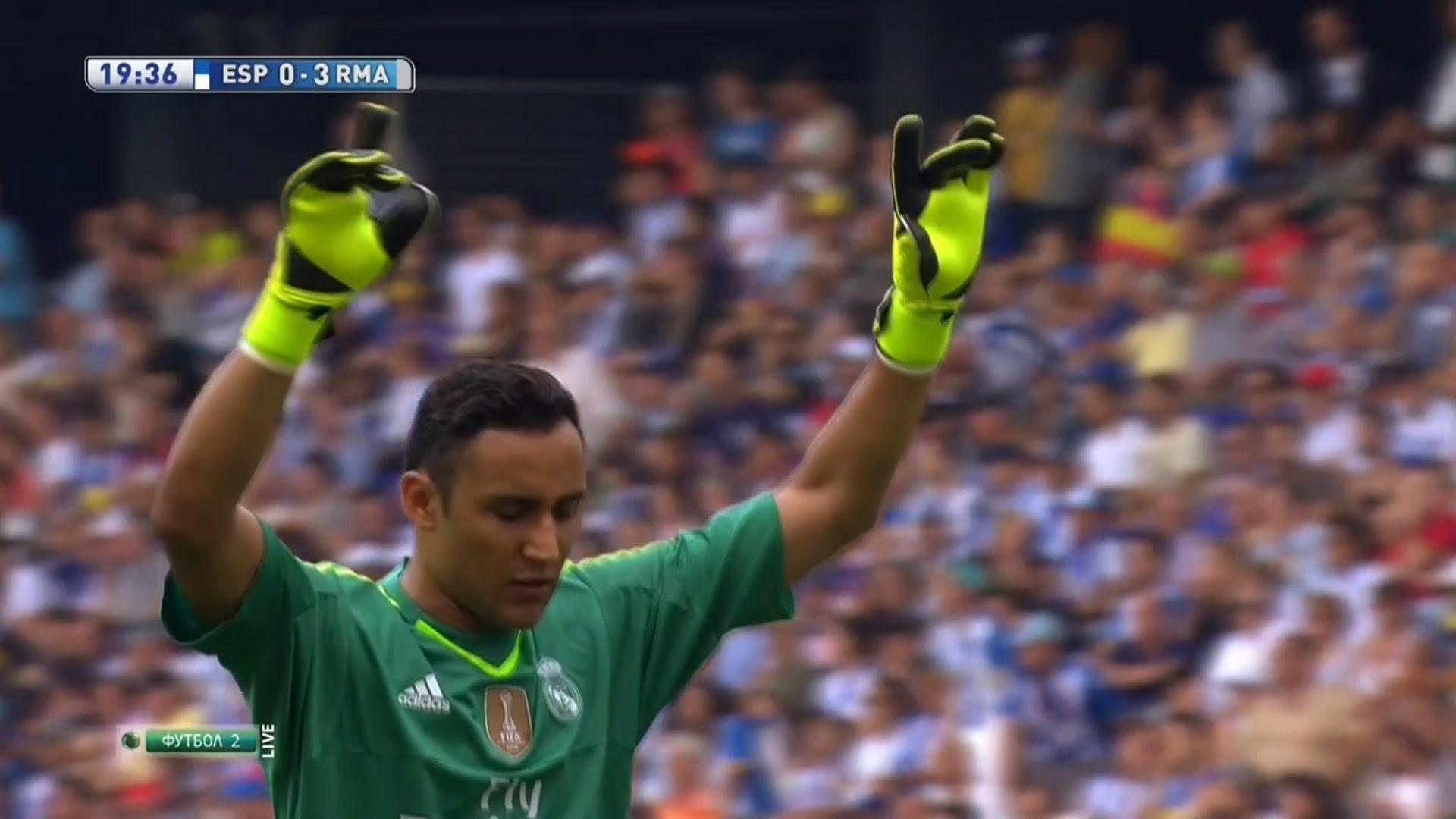 Keylor Navas Vs Espanyol (Away) 2015-16 HD 720p - YouTube