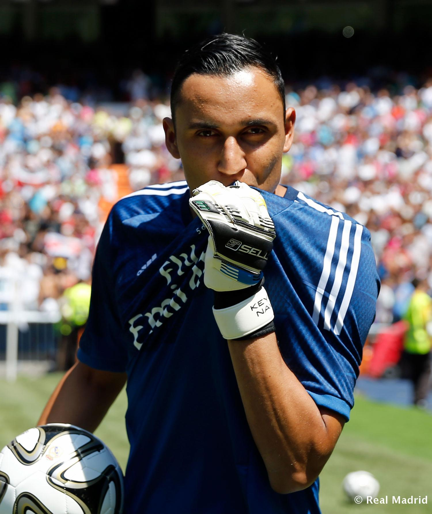Liverpool Fc Beaten 3 0 By Real Madrid At Anfield: Real Madrid Navas Keylor Keylor Navas Wallpapers Wallpaper