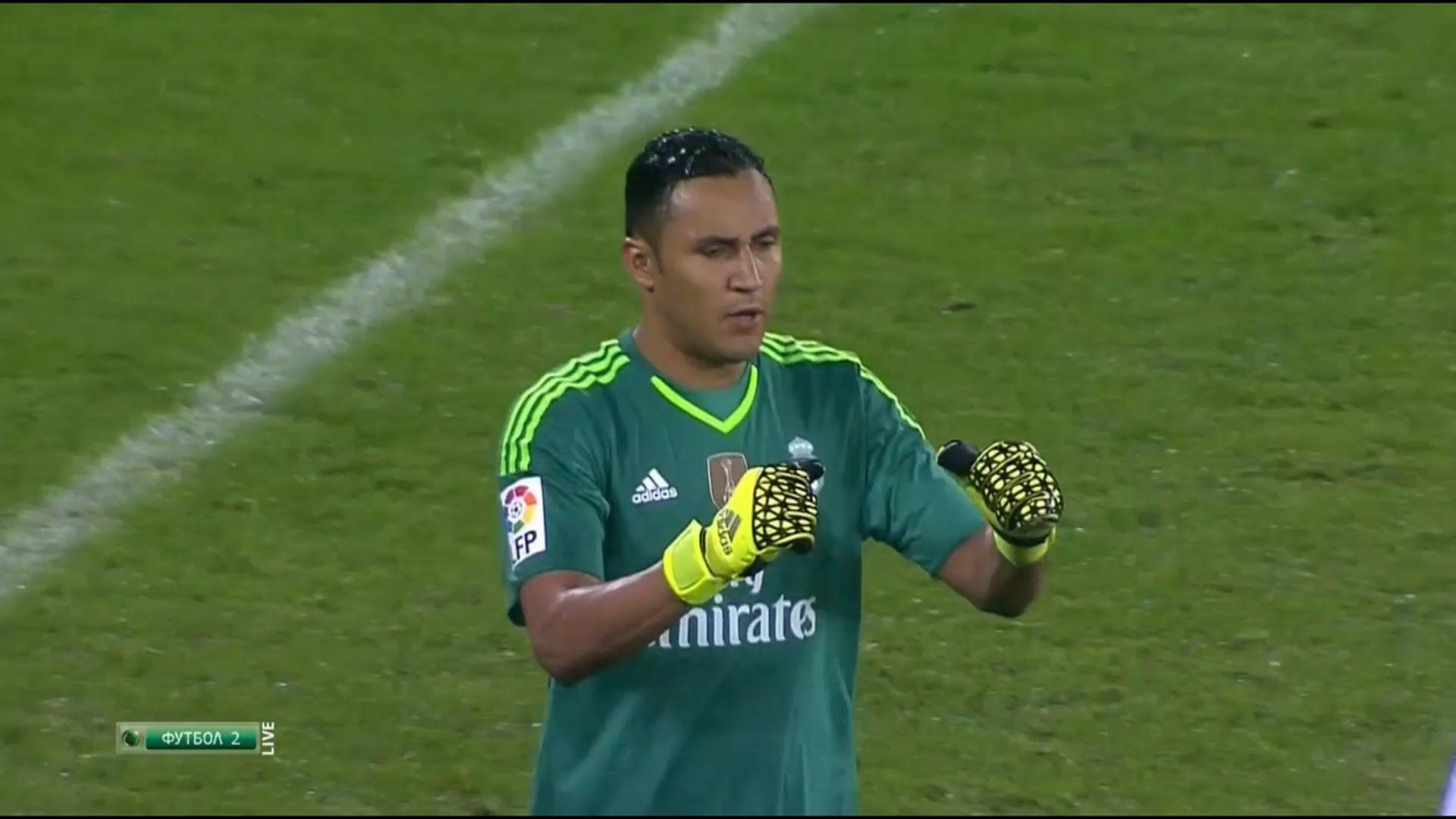 Keylor Navas Vs Athletic Bilbao (Away) 2015-16 HD 720p - YouTube