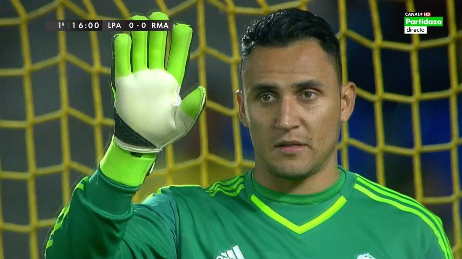 Keylor Navas Vs Las Palmas (Away) 2015-16 HD 720p - YouTube