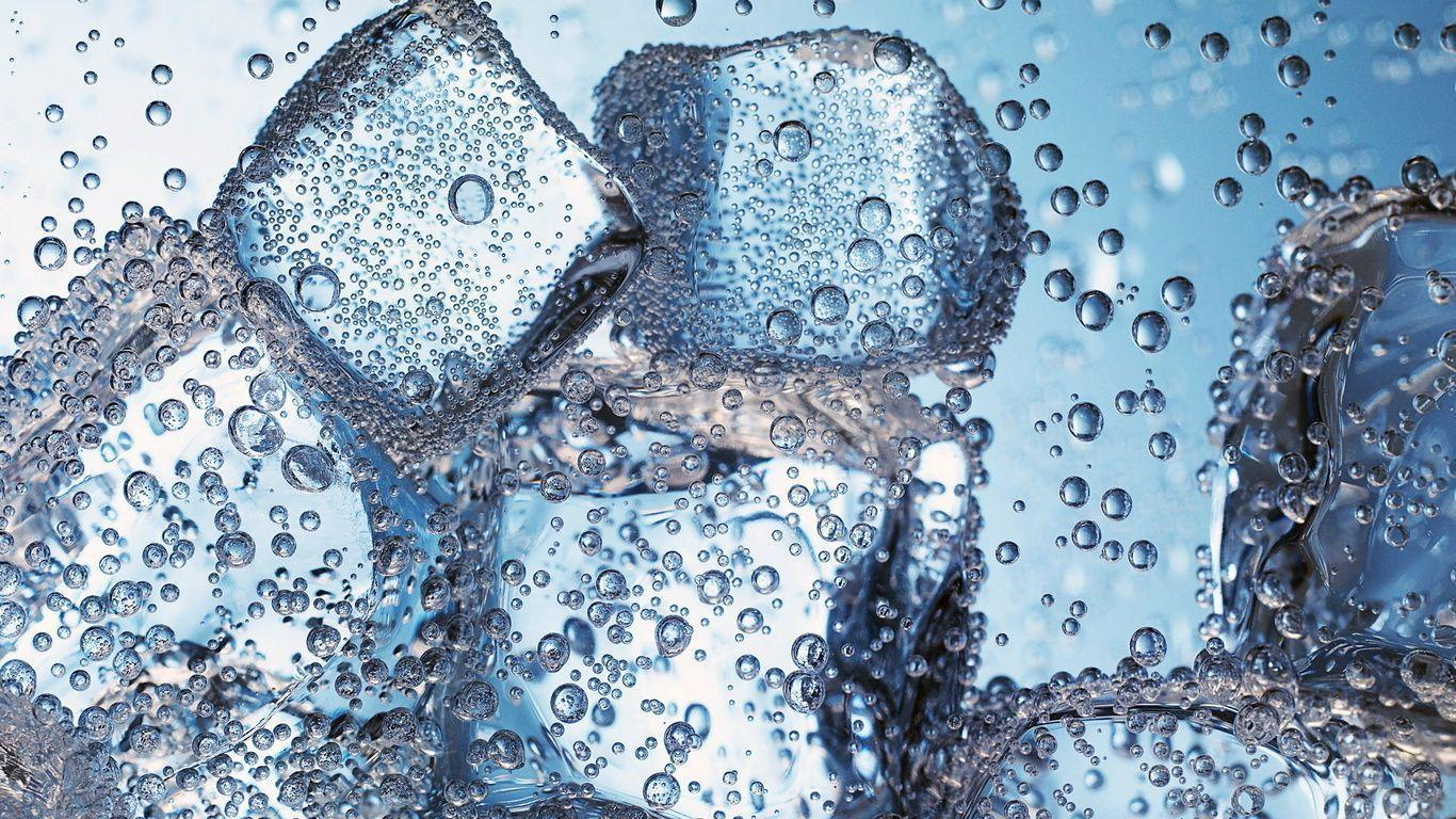 1366x768 Ice, Bubbles, Bubbles, Soda, Macro, Water, Ice Wallpapers ...