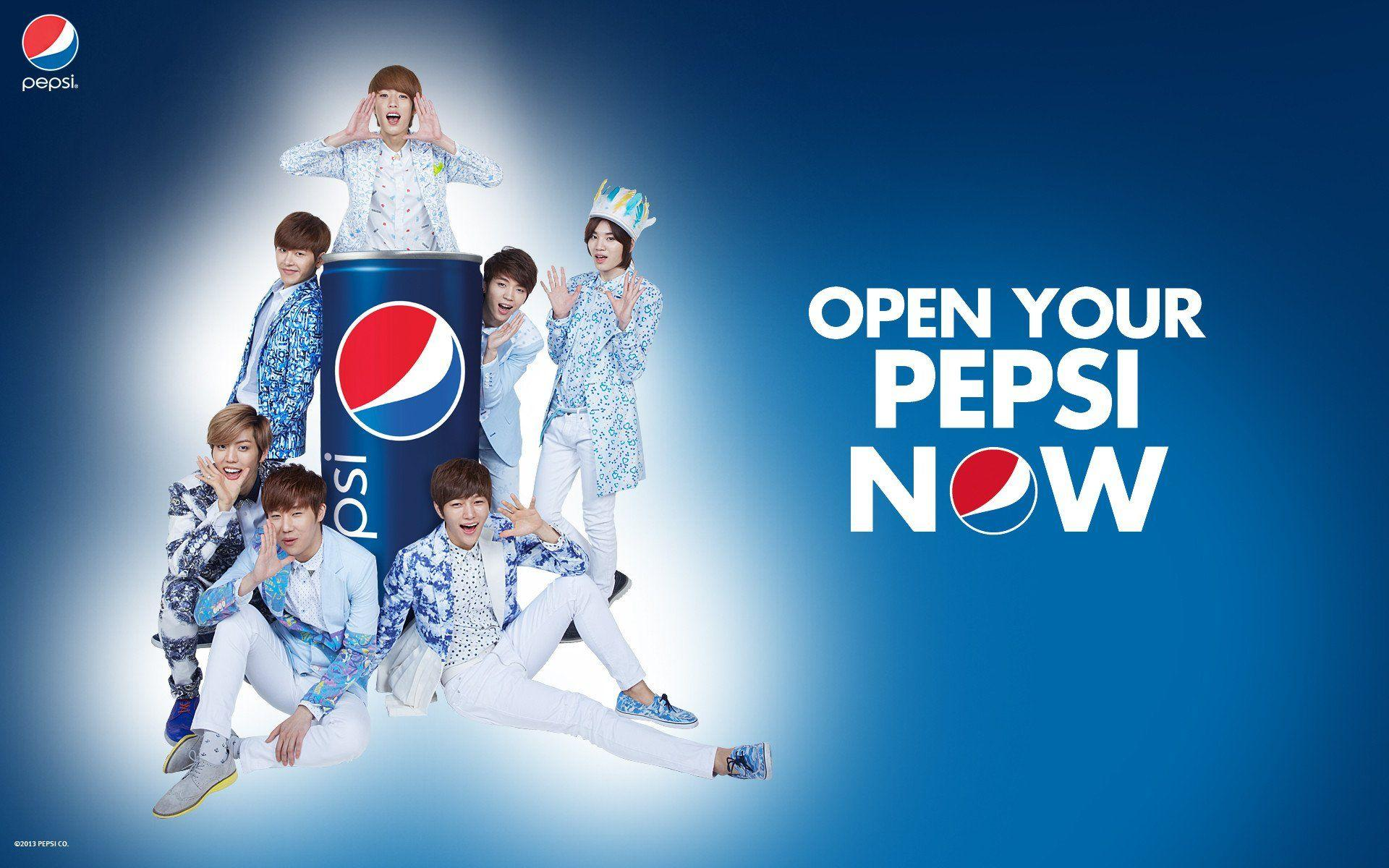 PEPSI soda drink logo poster cola drinks 1pepsi poster kpop k-pop ...