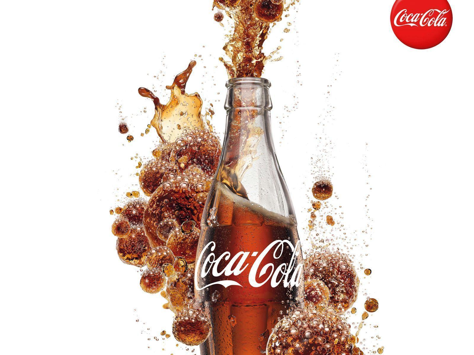 Coca Cola Bottle Wallpaper - Soda Photos
