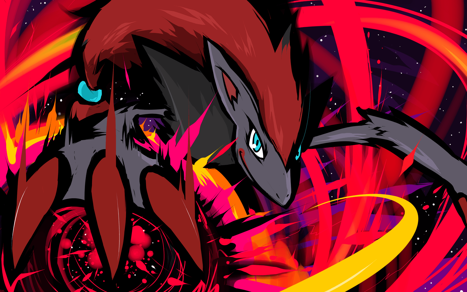 Zoroark Wallpapers Wallpaper Cave