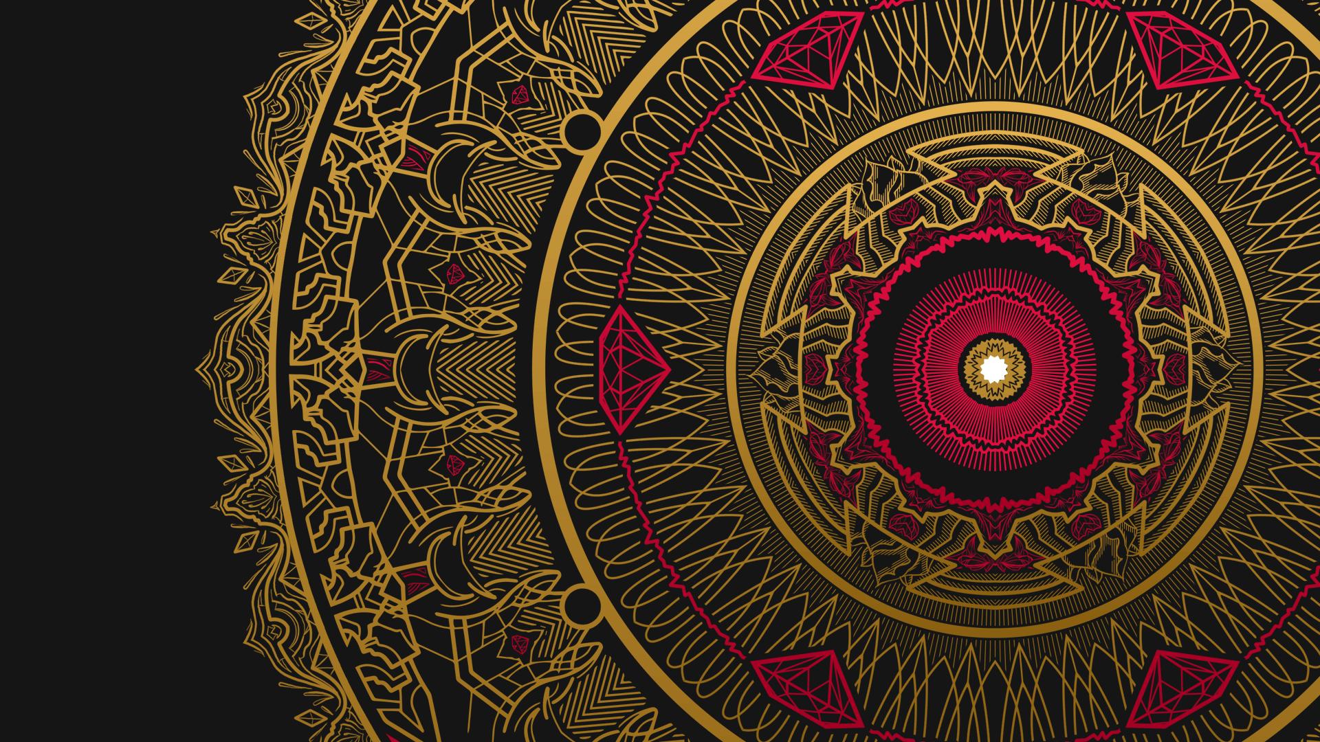 Mandala Computer Wallpaper - WallpaperSafari