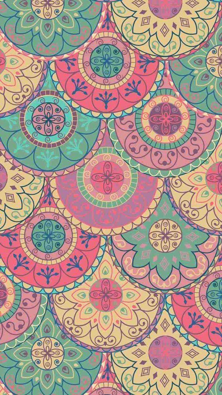 17 mejores ideas sobre Wallpaper Mandala en Pinterest | Mandala ...