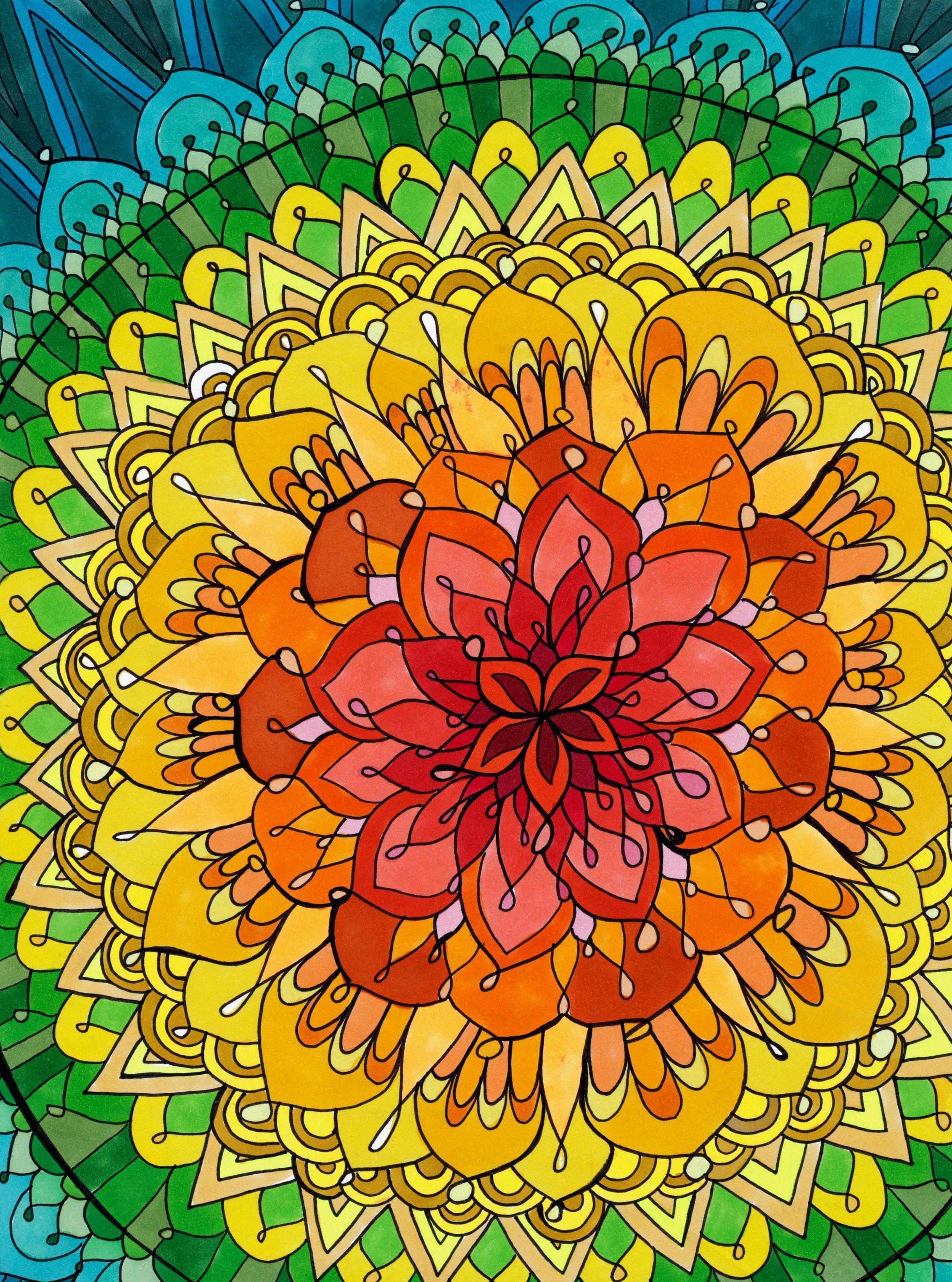 Mandala Wallpaper iPhone - WallpaperSafari