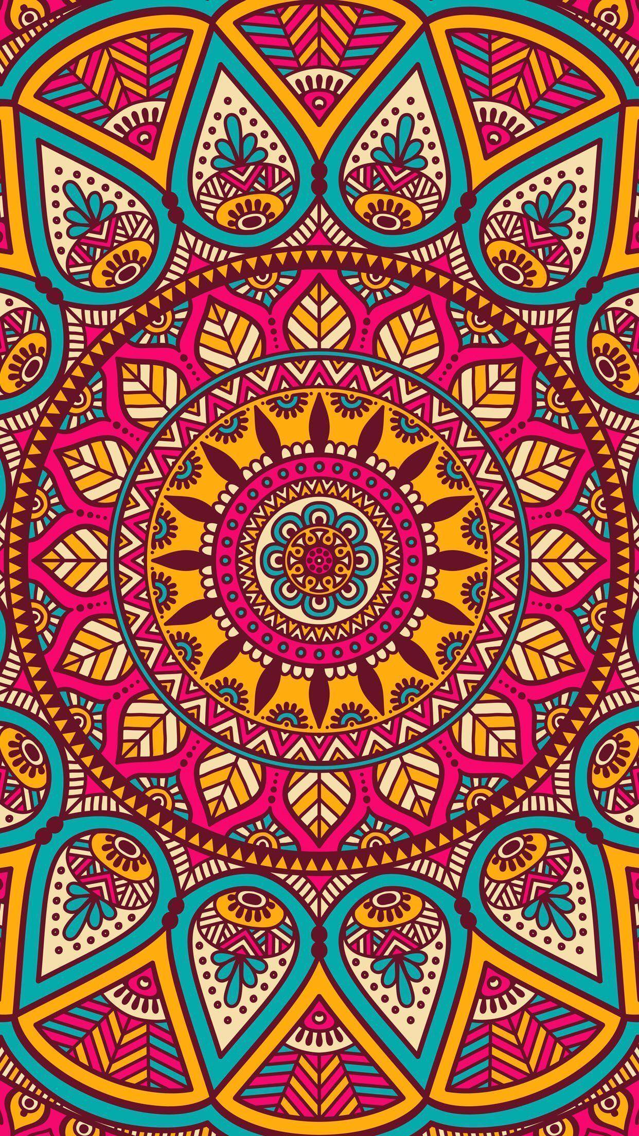FREE mandala art wallpaper for iPhone and iPod Touch | Techno ...