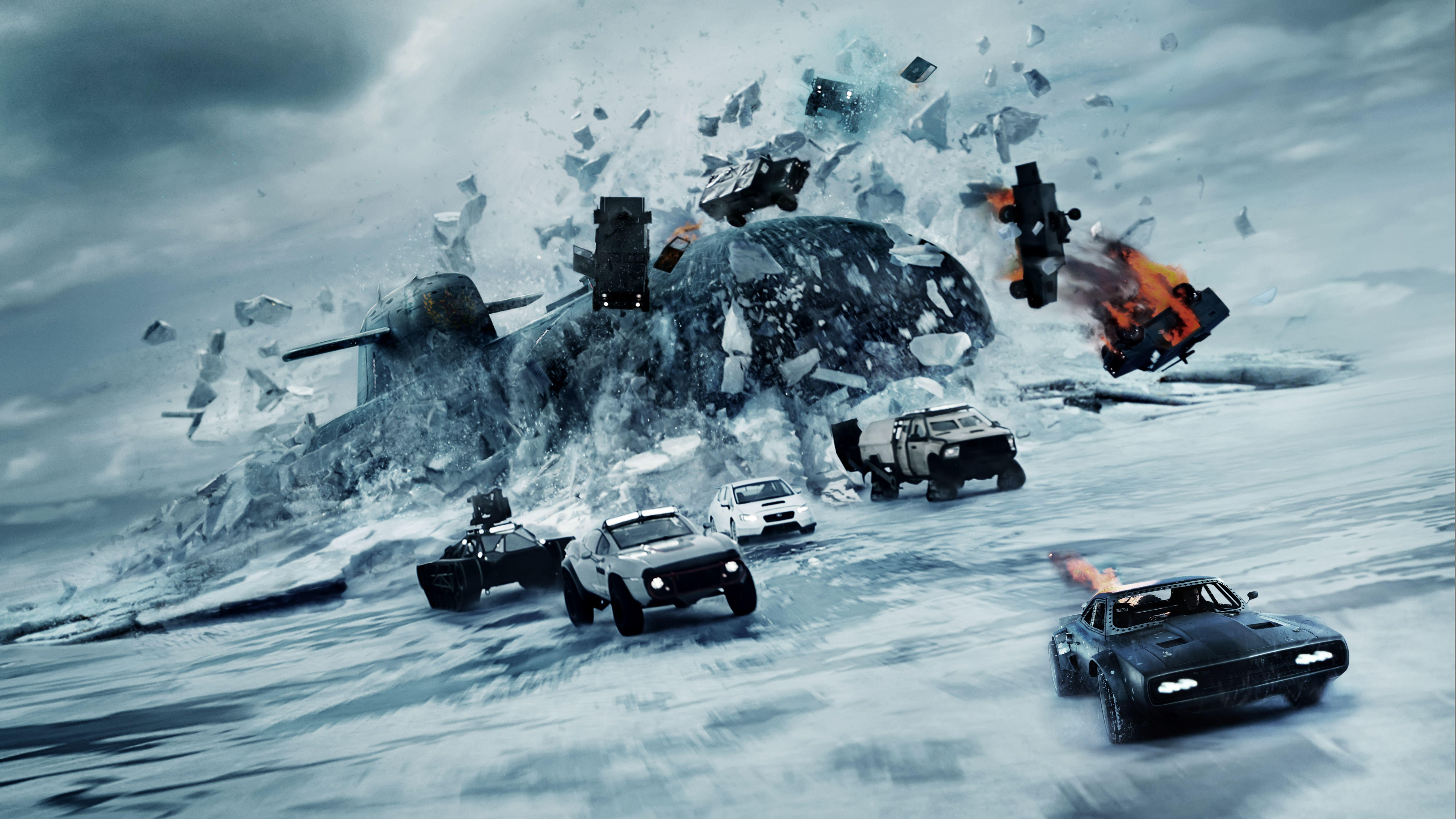 Wallpaper Fast & Furious 8, The Fate of the Furious, 2017, 4K ...