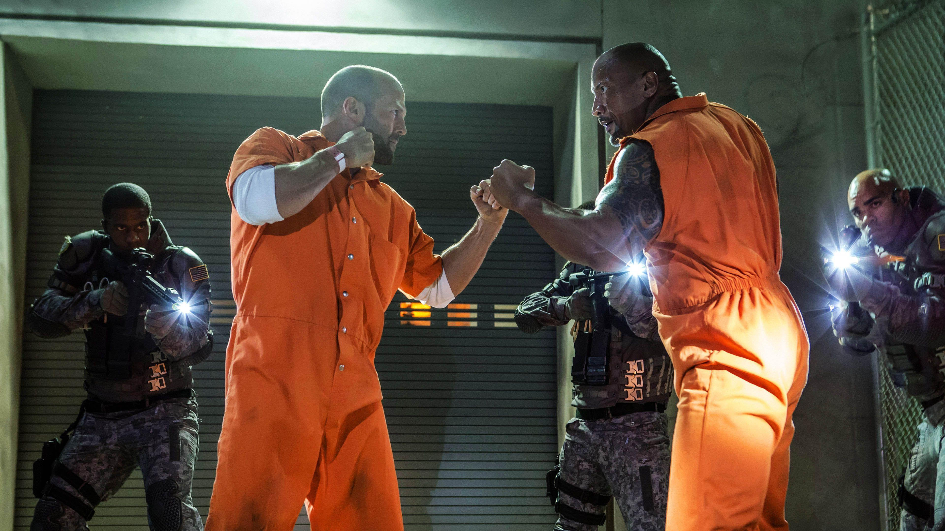 Jason Statham & Dwayne Johnson - The Fate of the Furious (Fast ...