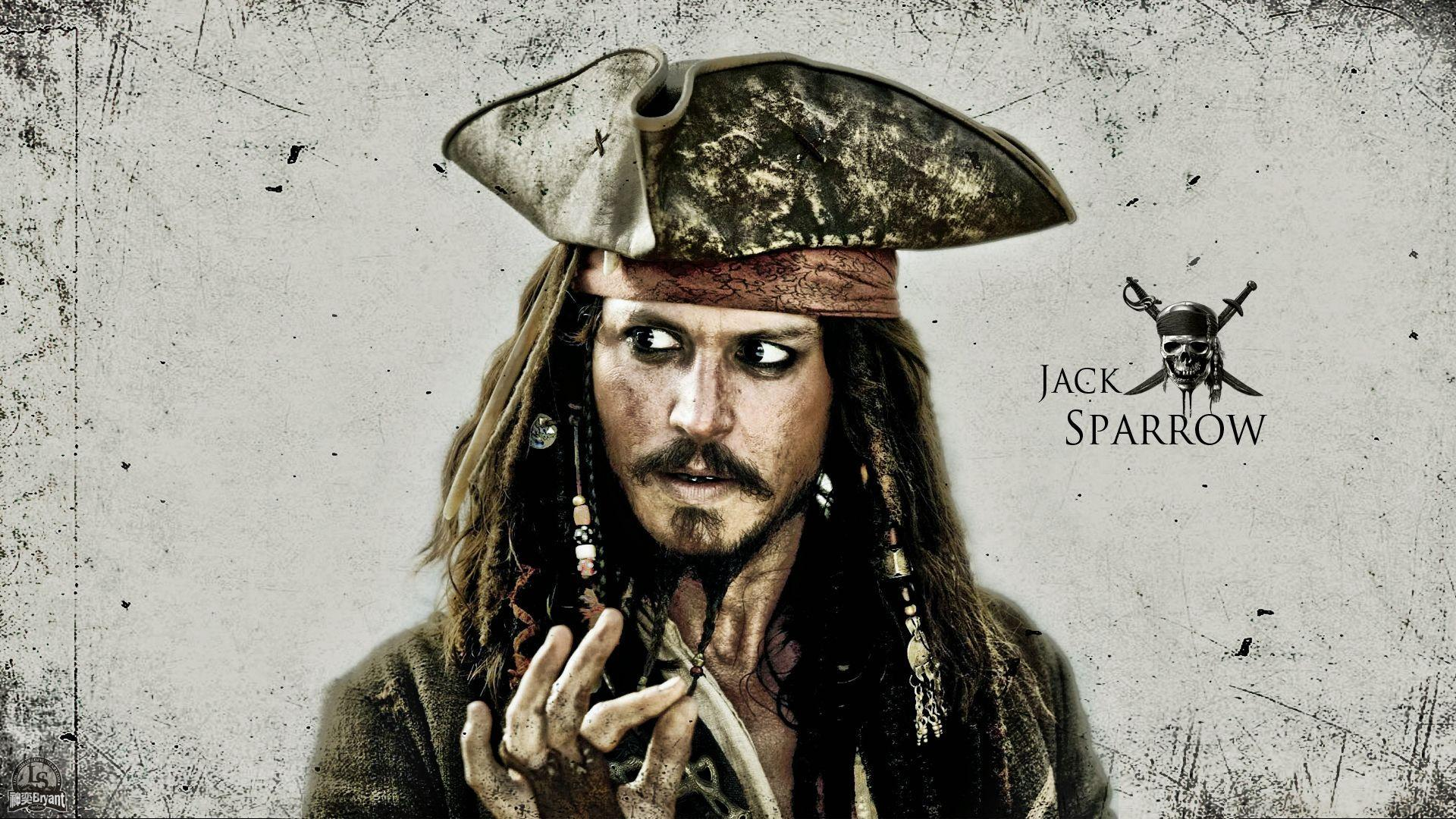Pirates of the Caribbean Jack Sparrow Pirate Johnny Depp wallpaper ...