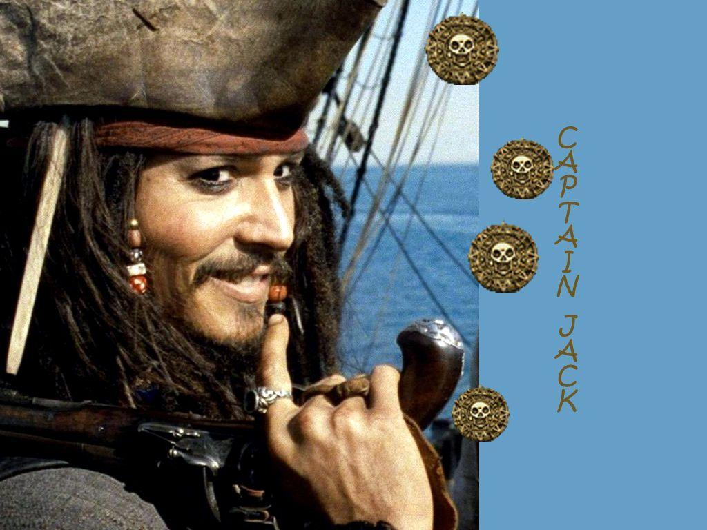 Captain Jack Sparrow The Free Johnny Depp As 1024x768 | #257593 ...