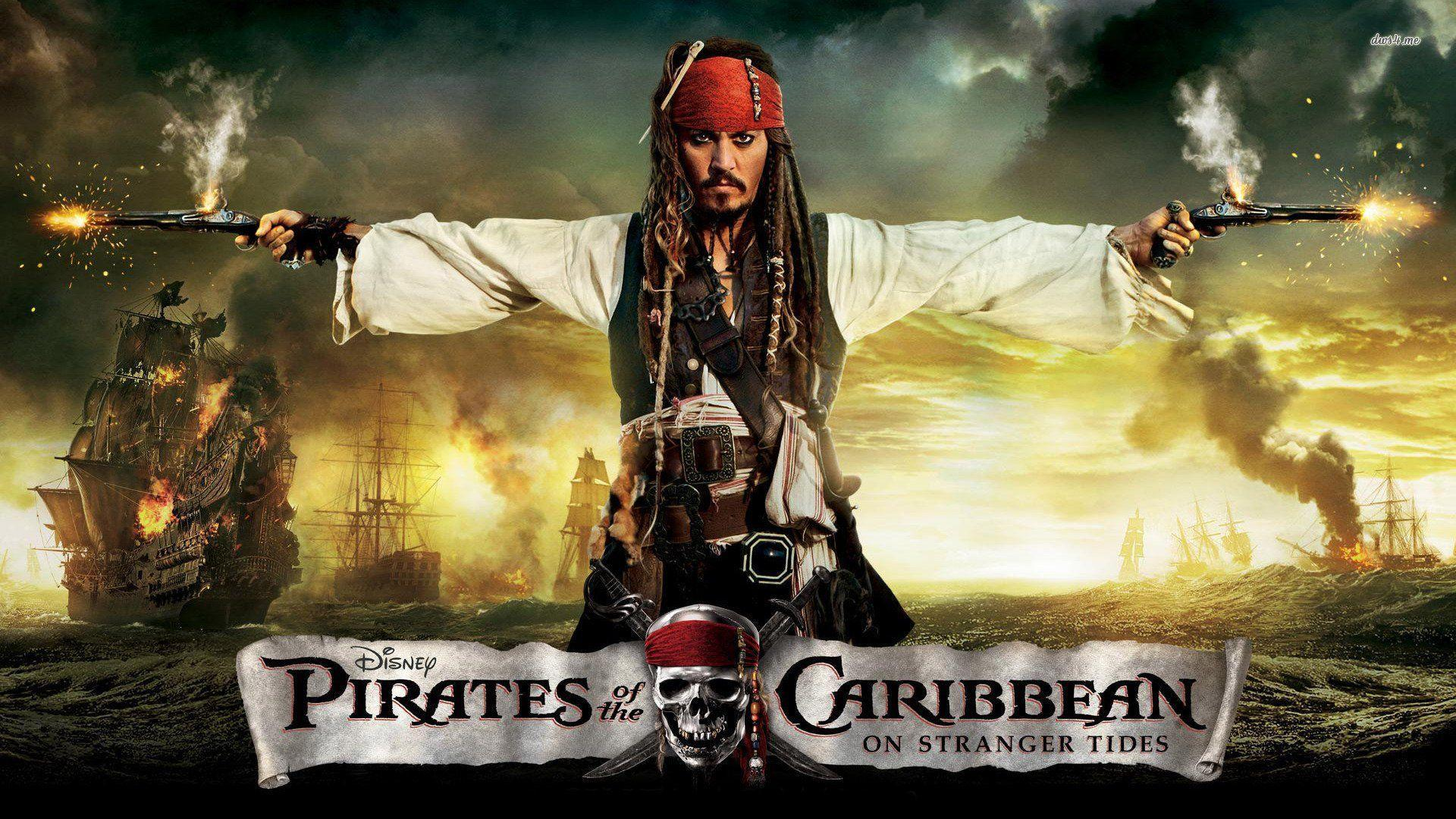 Jack Sparrow - Pirates Of The Caribbean-On Stranger T
