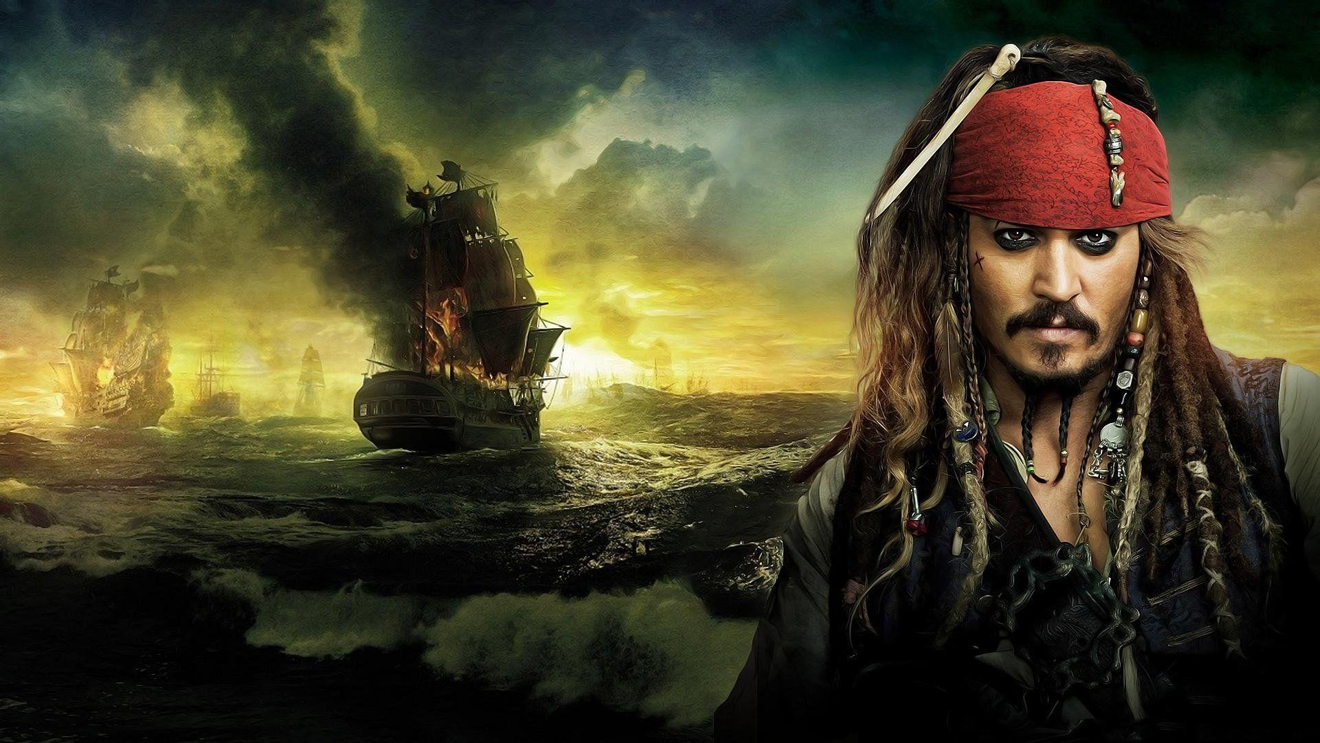 Captain Jack Sparrow - Pirates Of The Caribbean Wallp