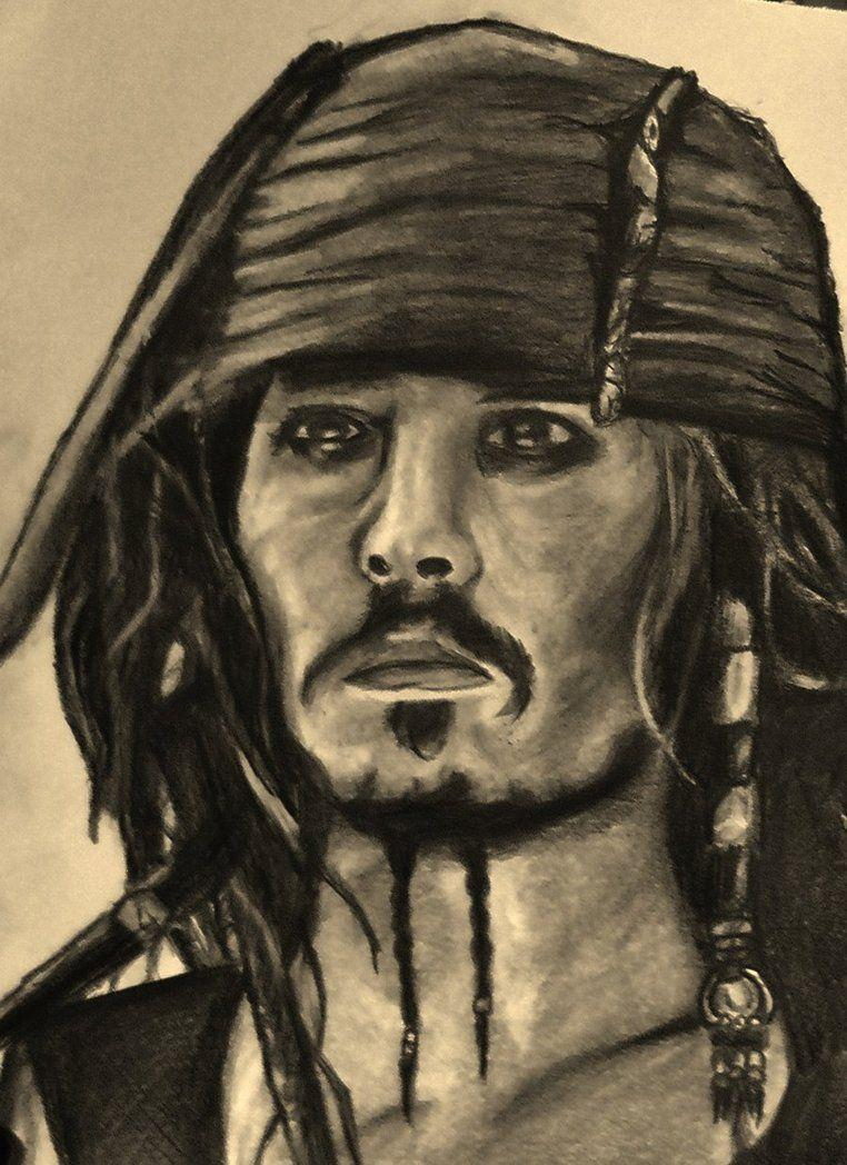 Jack Sparrow- Johnny Depp Sepia by AngelaM-96 on DeviantArt