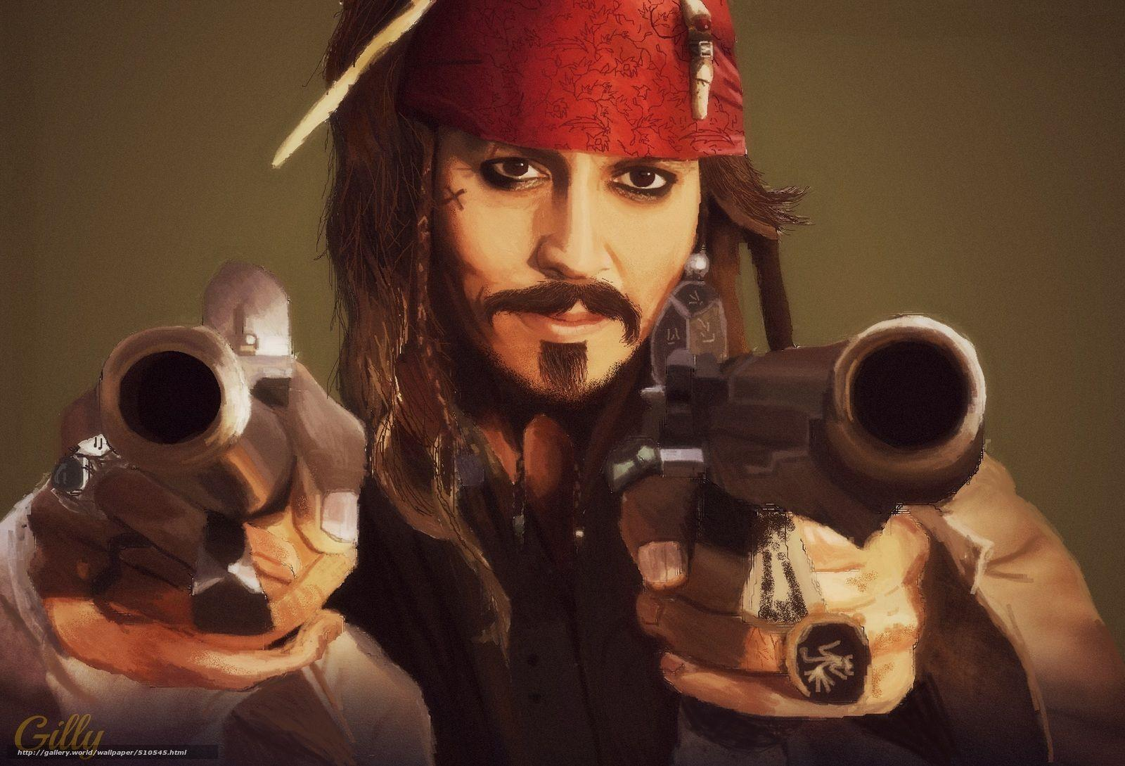 Download wallpaper Jack Sparrow, Johnny Depp (johnny depp), pirate ...