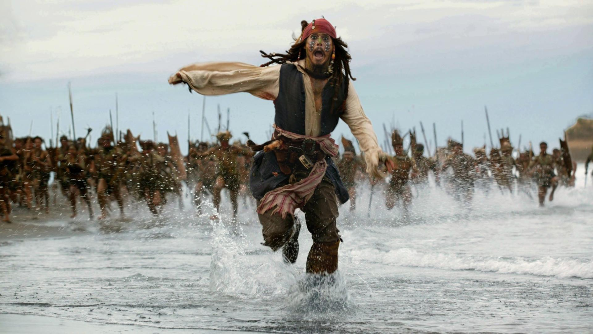 Jack Sparrow Pirates Of The Caribbean Movies Johnny Depp Wallpaper ...