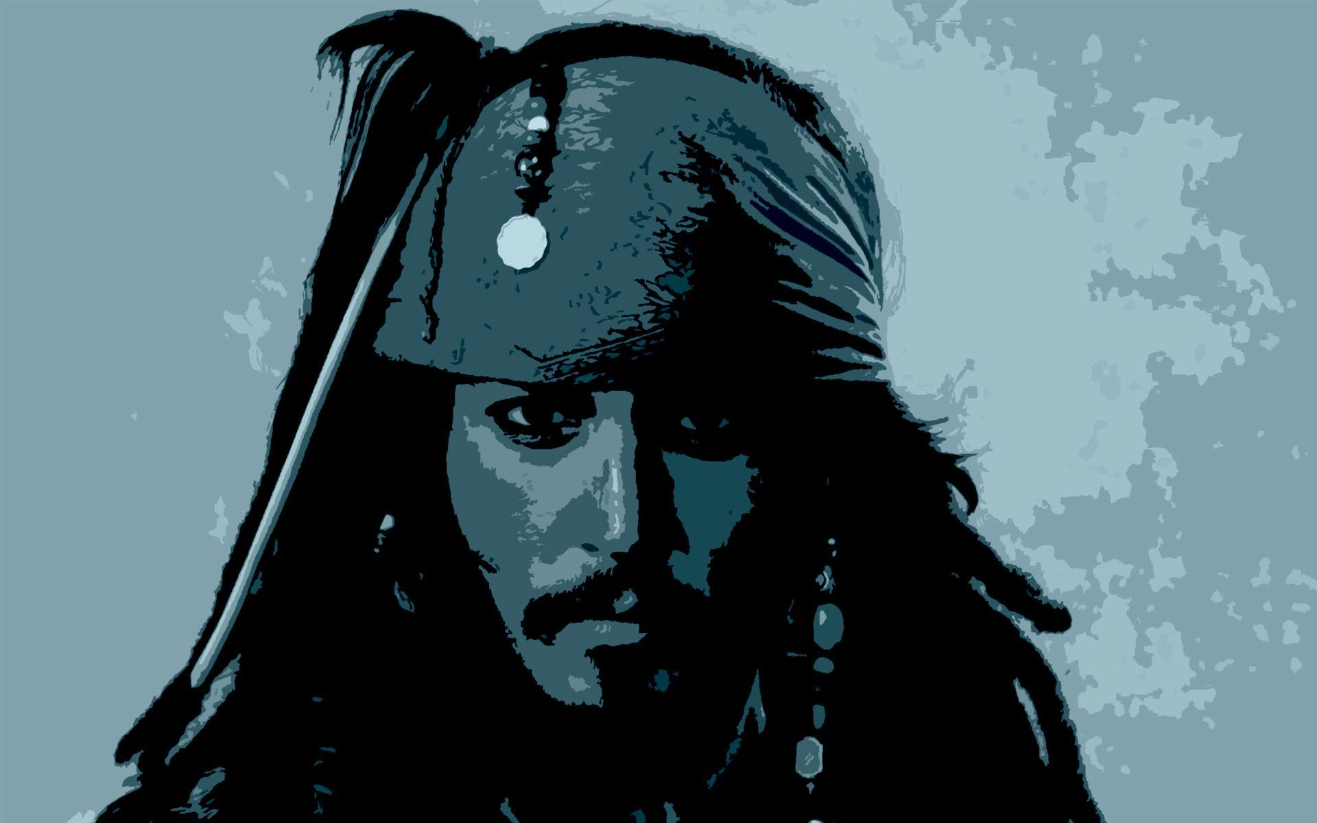 Jack Sparrow Pop Art Wallpaper by HD Wallpapers Daily