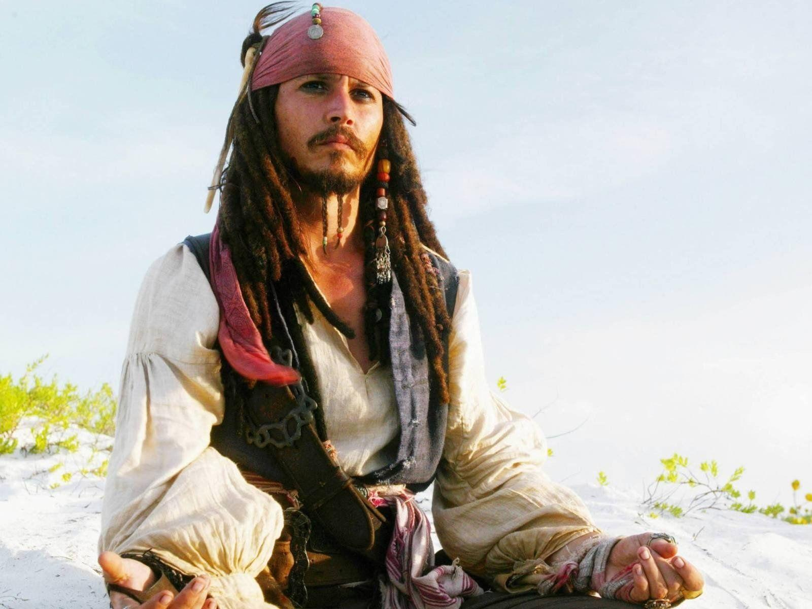 pirates of the caribbean johnny depp jack sparrow beach HD wallpaper