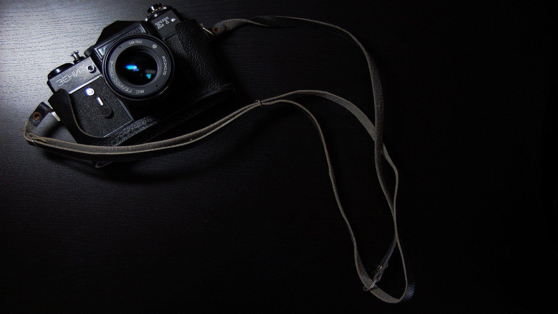 Zenit Camera, ET, camera, black, hi-tech, technology, wallpaper
