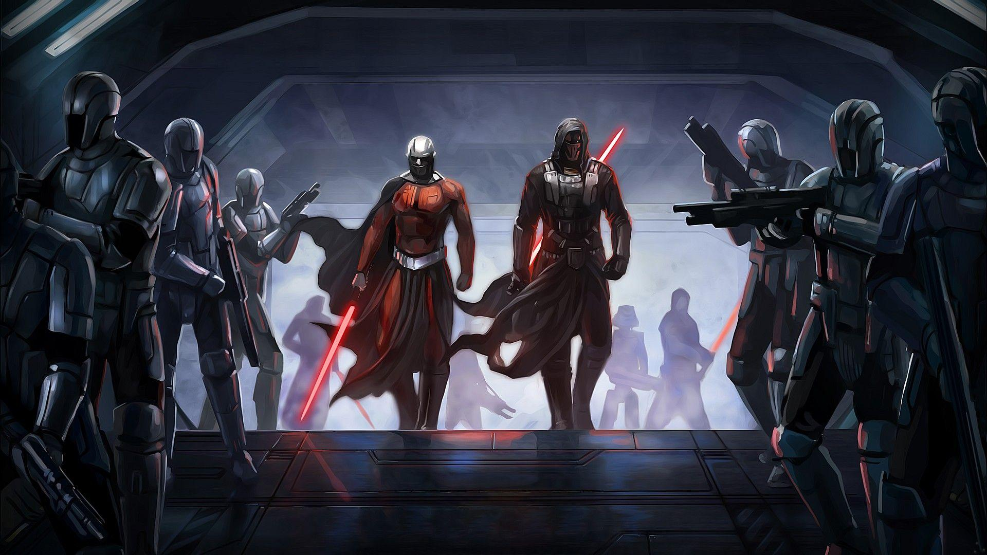 2 Darth Revan HD Wallpapers | Backgrounds - Wallpaper Abyss