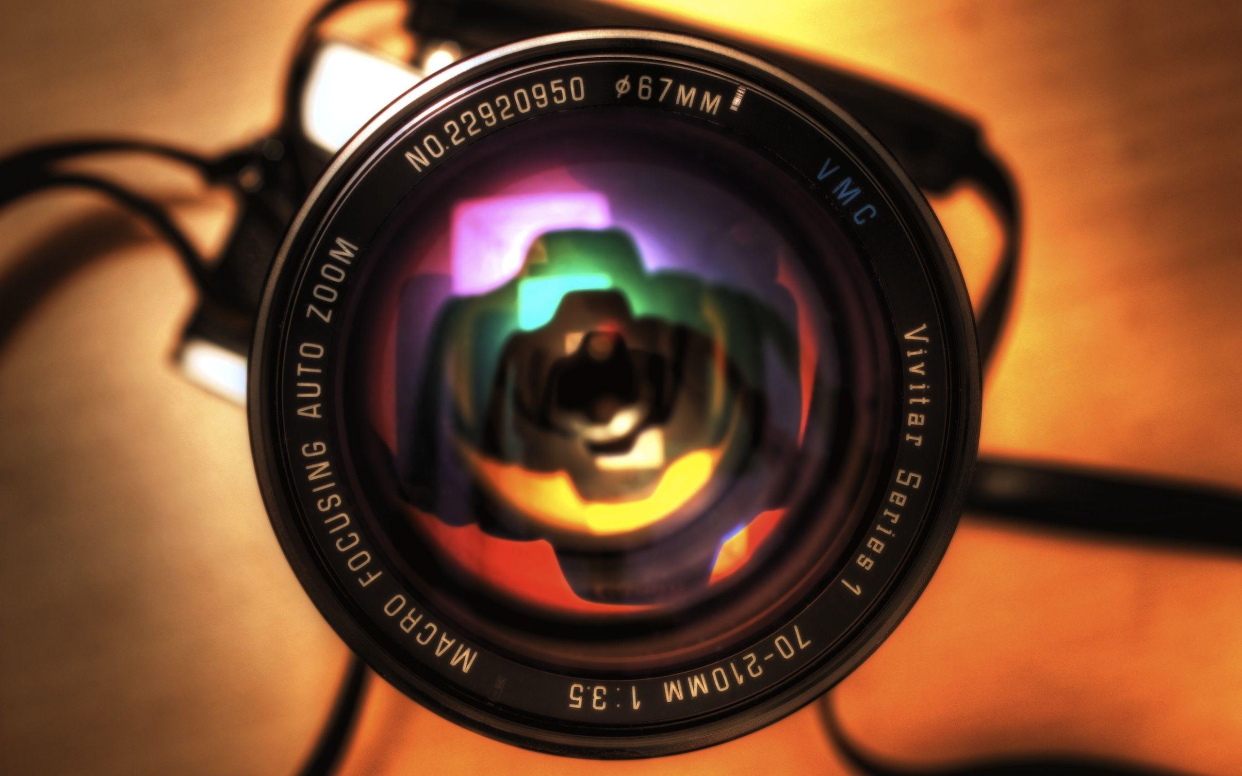 Lens - wallpaper.