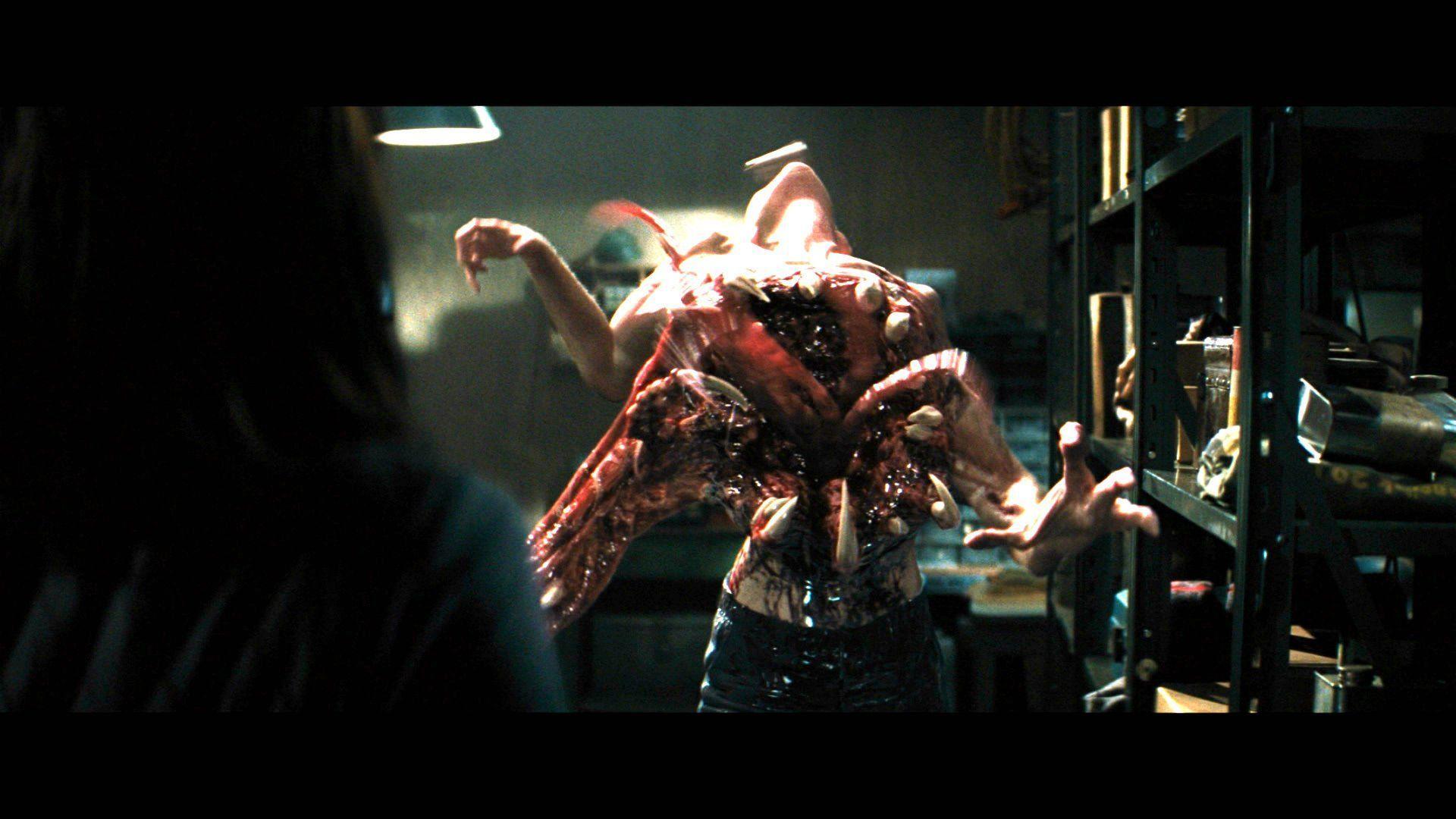 THE THING horror mystery thriller sci-fi dark monster alien g ...