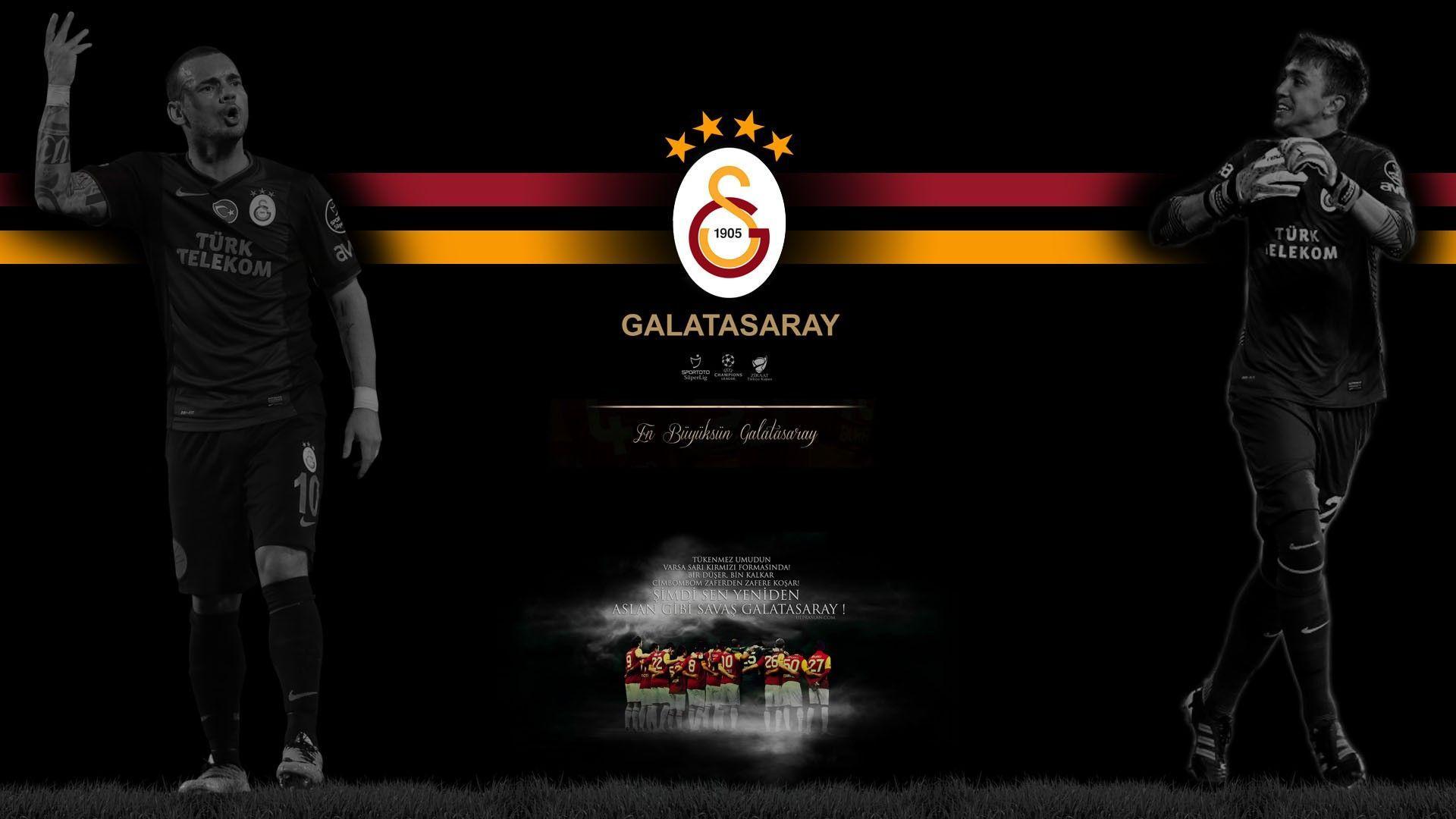 Galatasaray S.K., Fernando Muslera, Wesley Sneijder Wallpapers HD ...