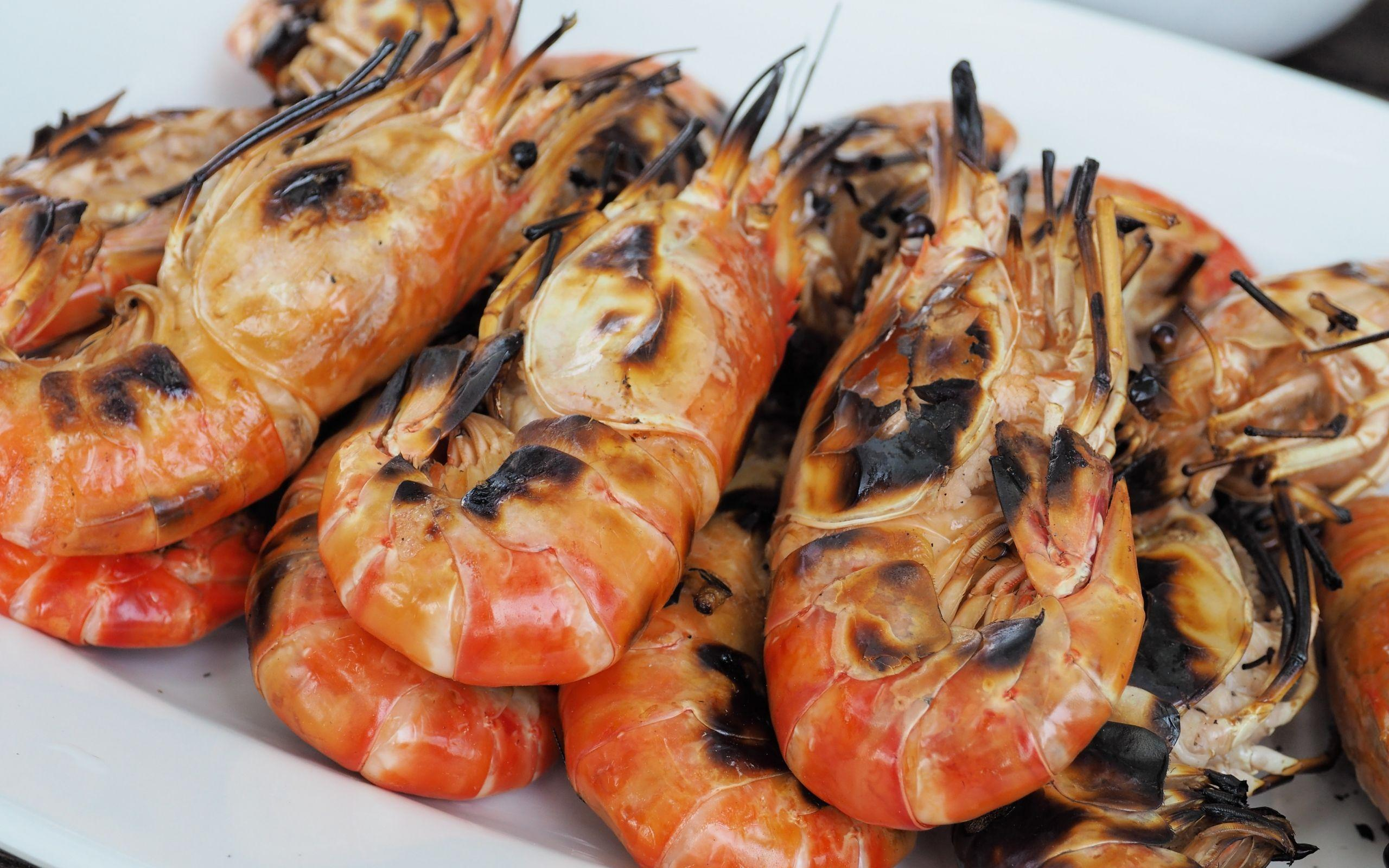 Seafood Shrimp Wallpaper Background 60485 2560x1600 px ...