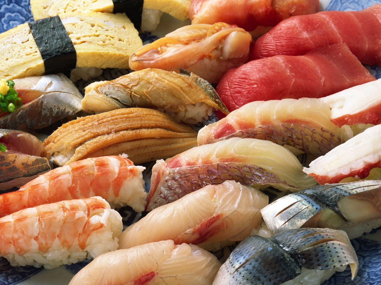 Pieces of seafood wallpapers and images - wallpapers, pictures, photos