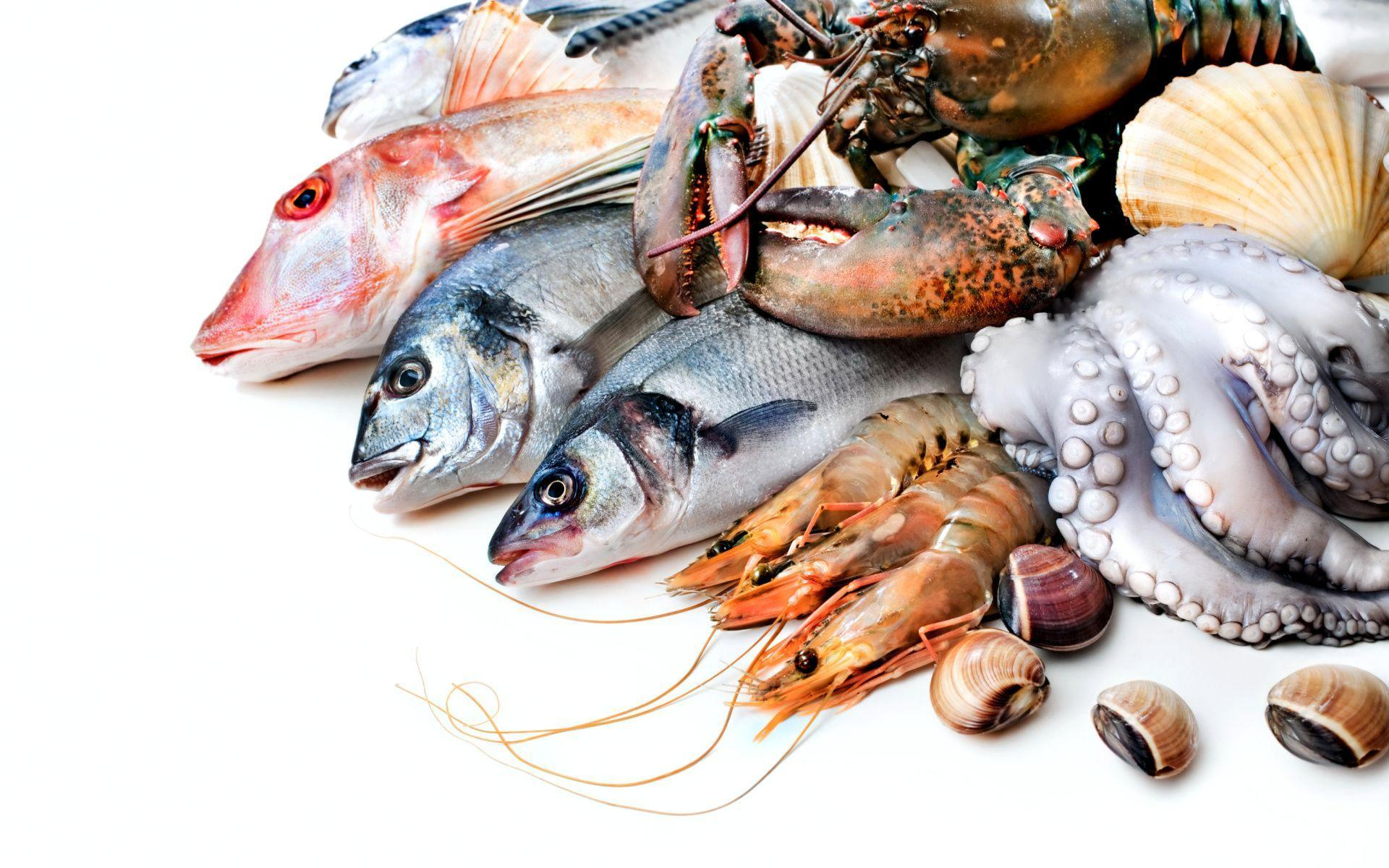 Seafood Wallpapers for Widescreen Desktop PC 1920x1080 Full HD