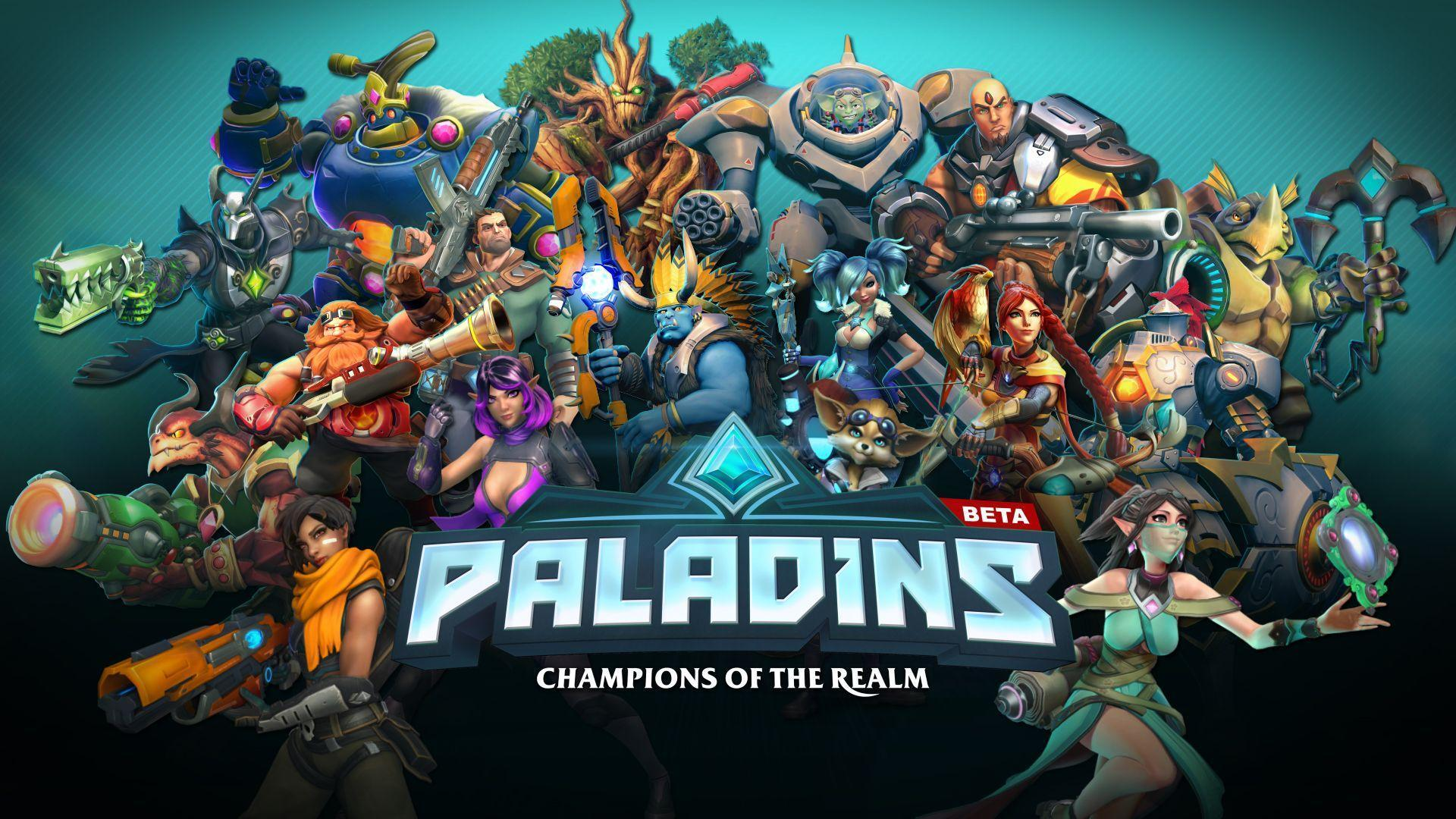 Paladins Wallpapers Wallpaper Cave
