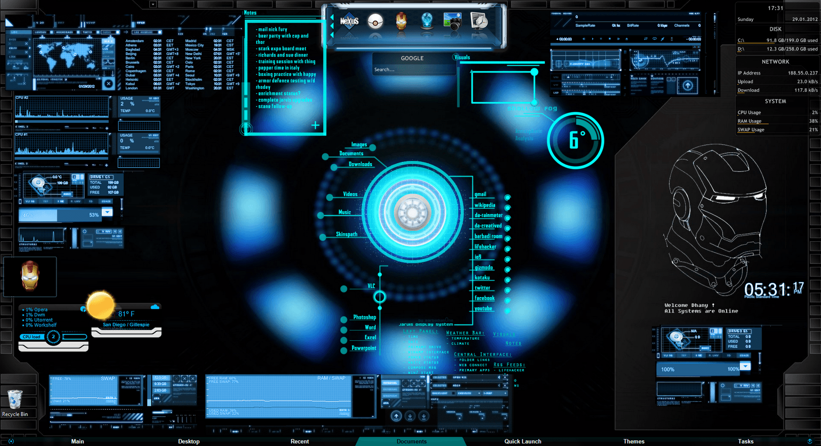 Jarvis Iron Man Wallpaper Hd: J.A.R.V.I.S Wallpapers