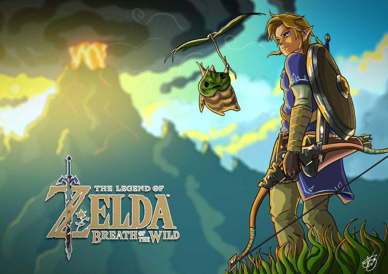 Breath Of The Wild Wallpapers Wallpaper Cave