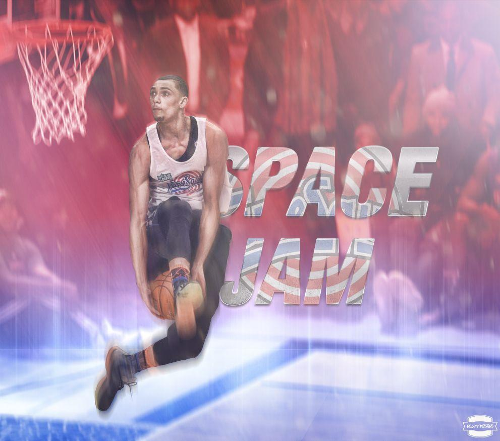 Zach LaVine Space Jam Dunk by NewtDesigns