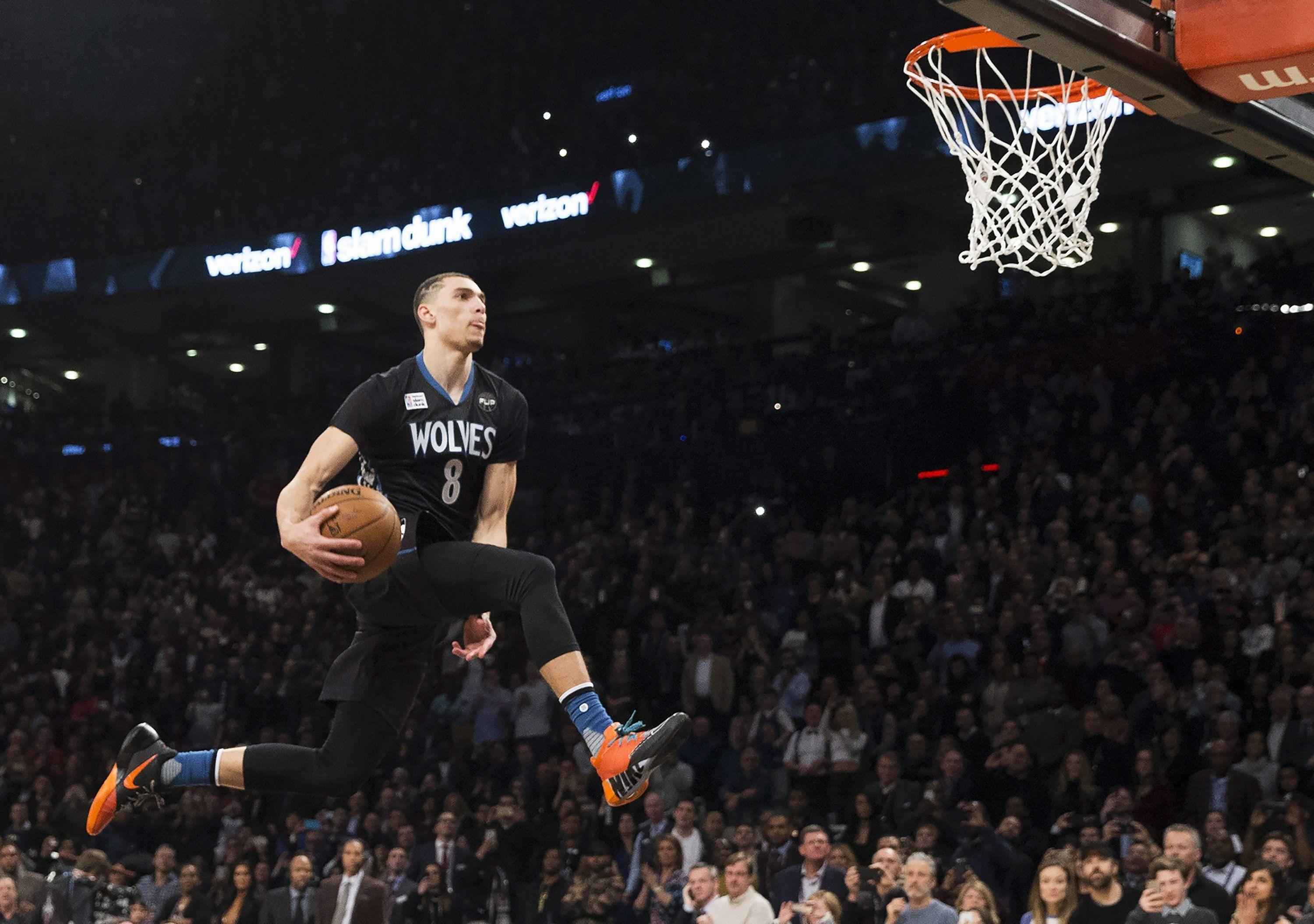 Zach LaVine won't defend his dunk contest title. What about the