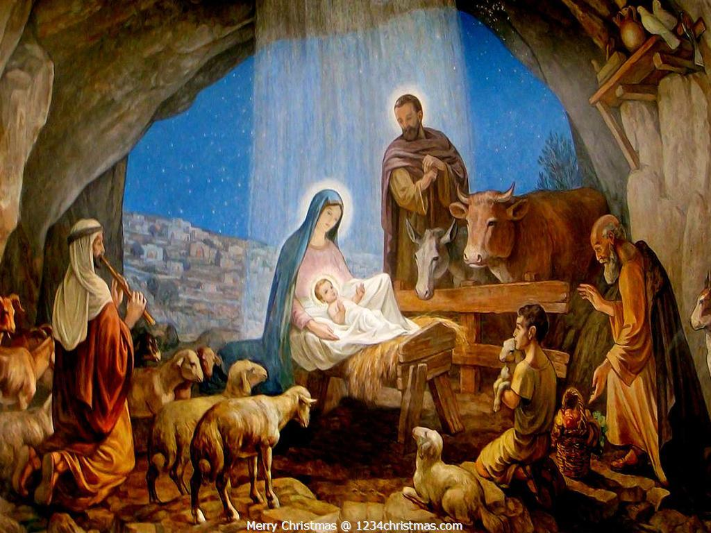 Nativity Scene Wallpapers for FREE Download