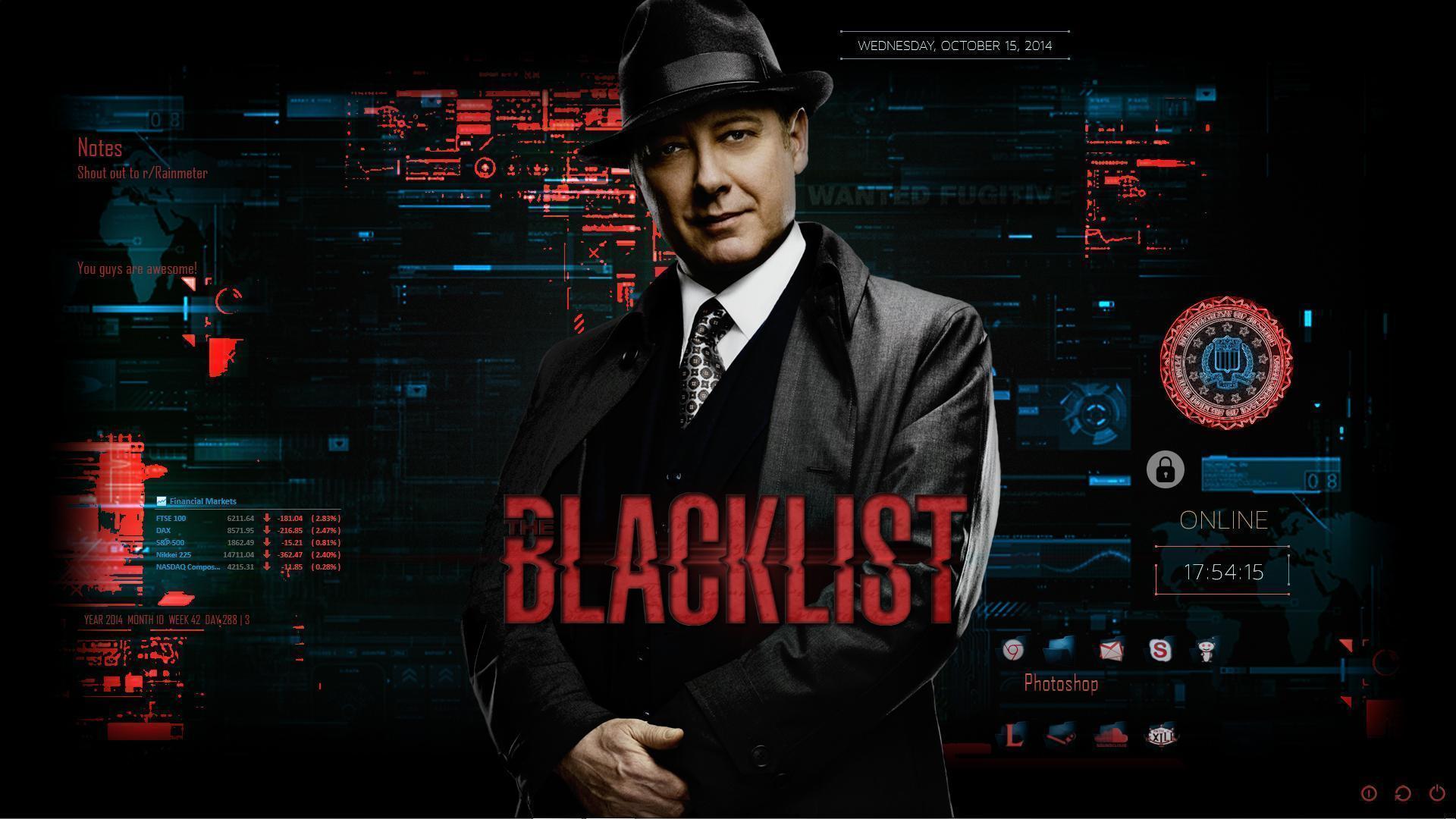 The Blacklist Zoom Background
