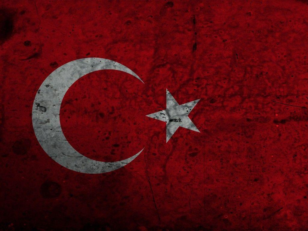 red dirty turkish flag (to get full size image visit the site ...