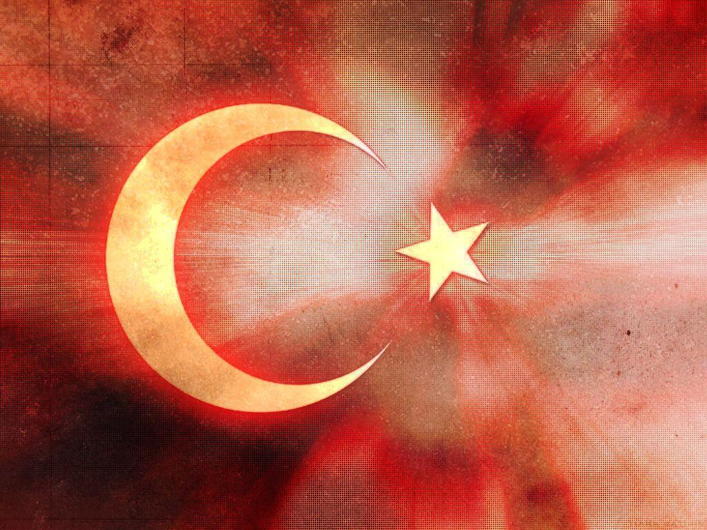 Free Turkish Flag Backgrounds For PowerPoint - Flags PPT Templates