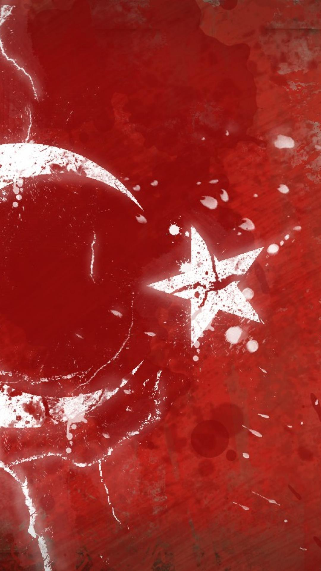 Political Digital Art Turkish Flag Wallpaper