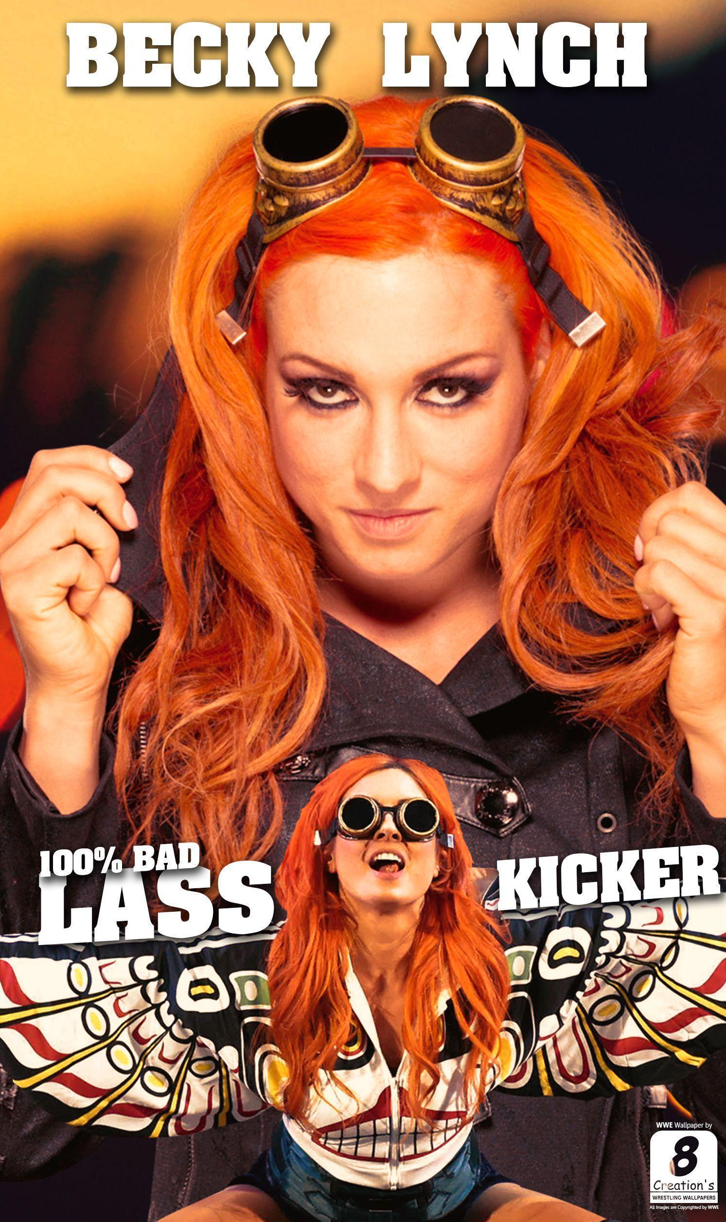 Becky Lynch iphone Wallpapers by Arunraj1791