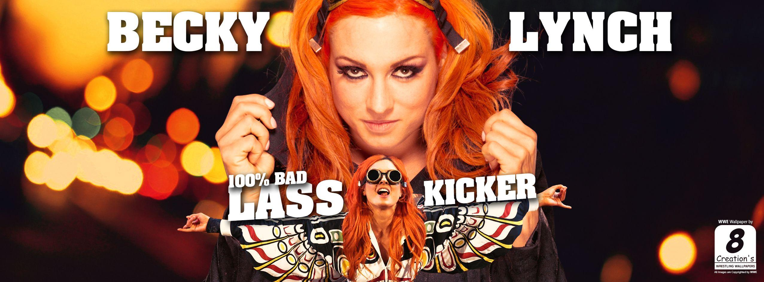 Becky Lynch Facebook Cover Photo by Arunraj1791