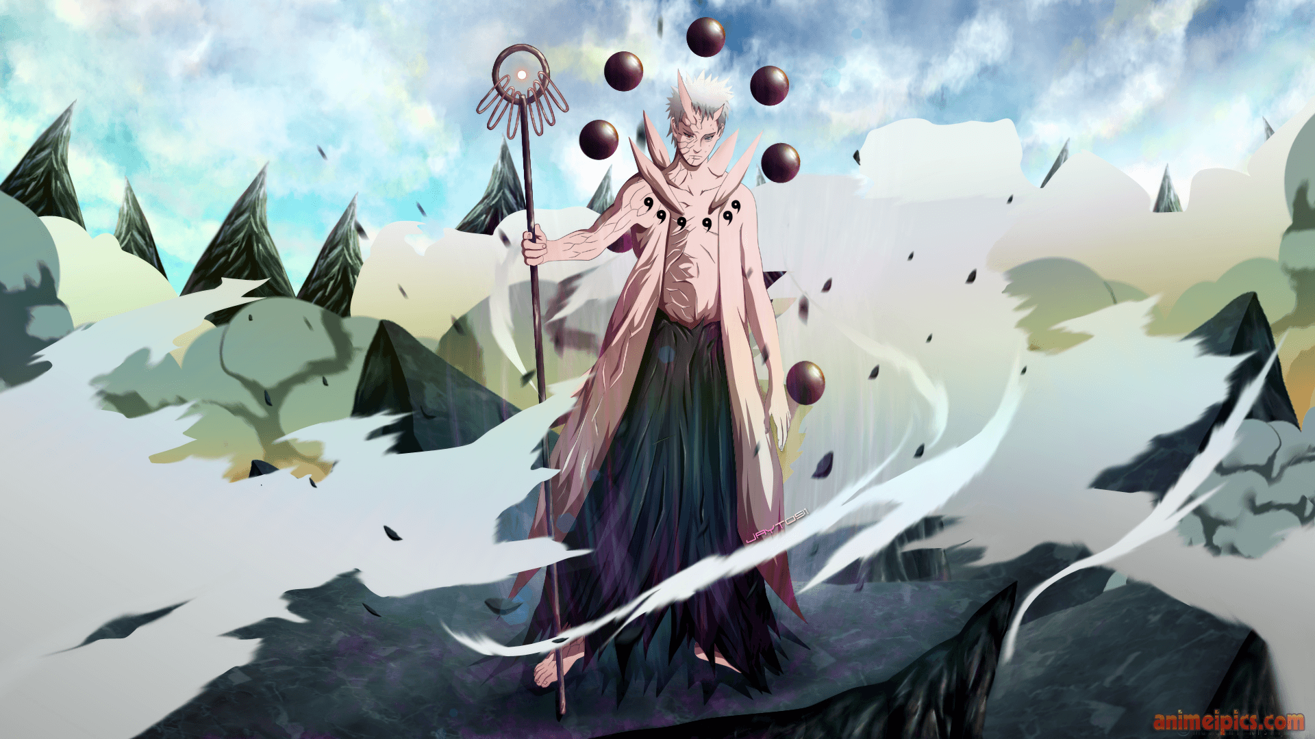 Rikudou Sennin Wallpapers Wallpaper Cave