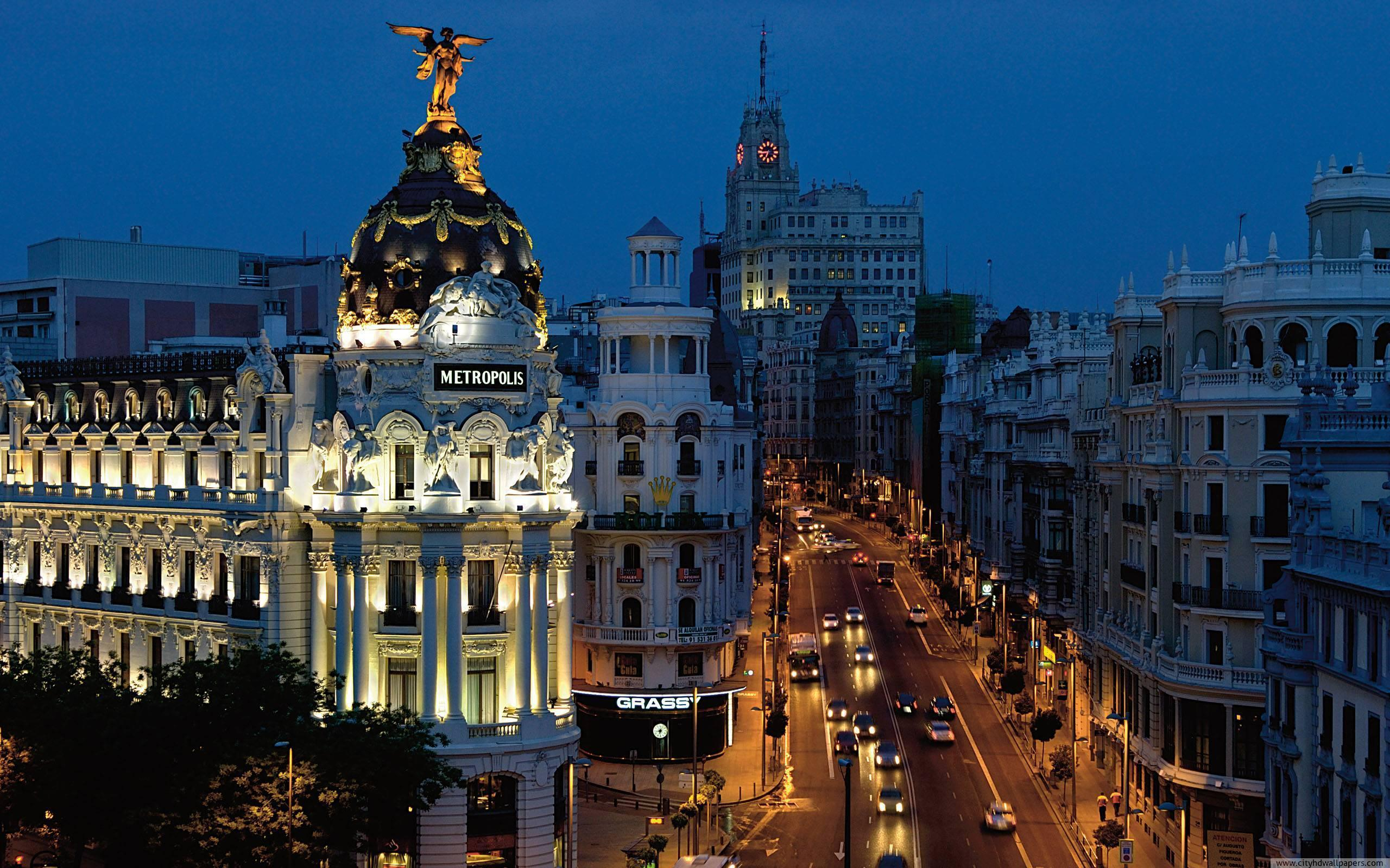 Madrid city wallpapers wallpaper cave - Madrid wallpaper ...