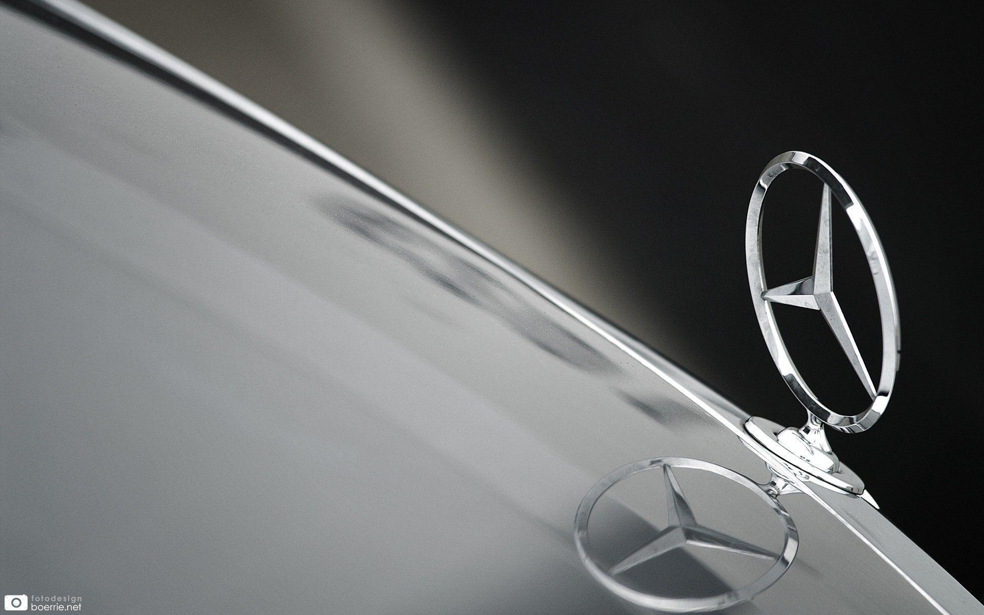 mercedes logo wallpapers